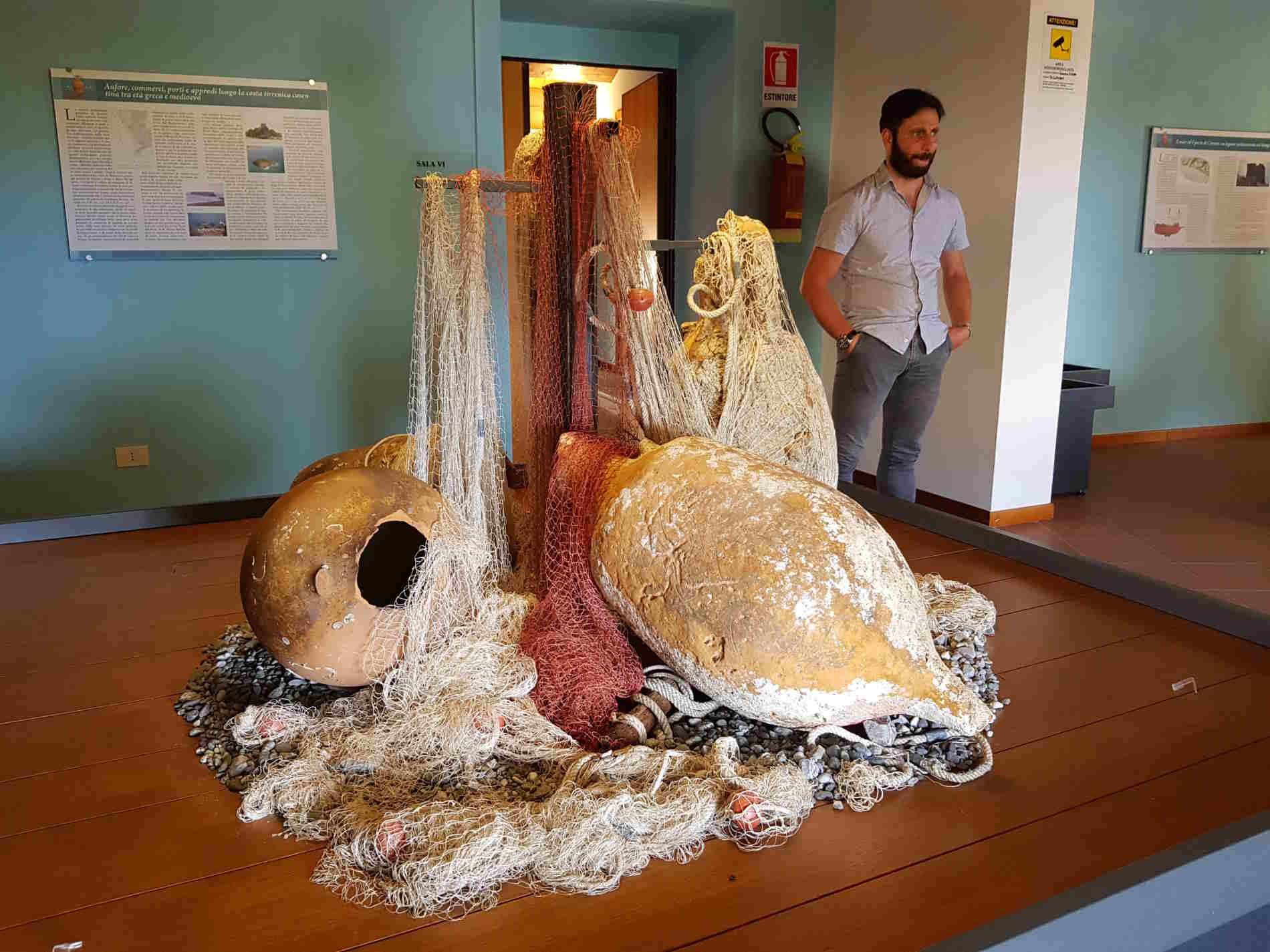 Anfore ritrovate in mare a Cetraro Museo dei Brettii e del Mare
