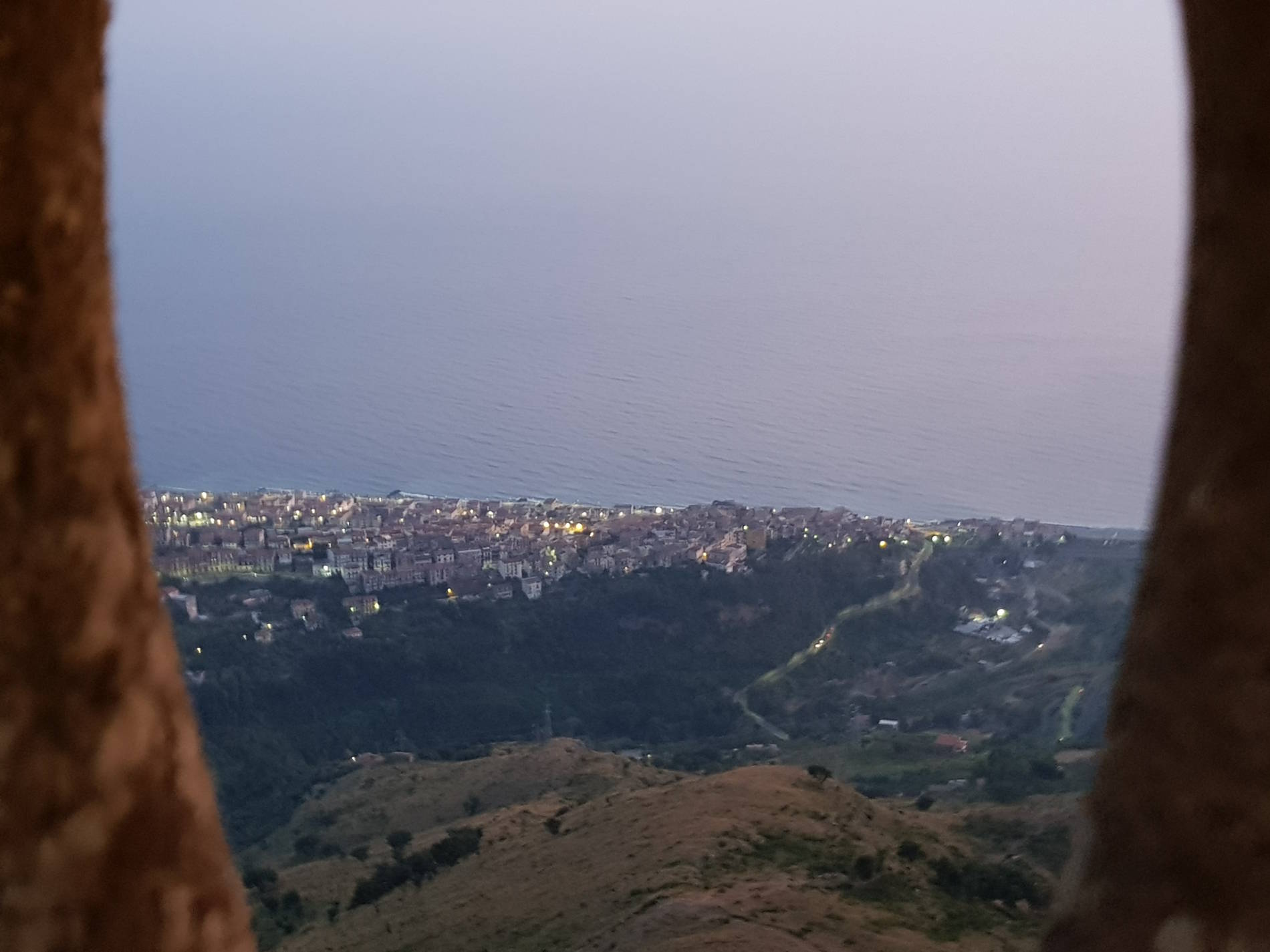 Panorama di Cetraro dal Monte Serra
