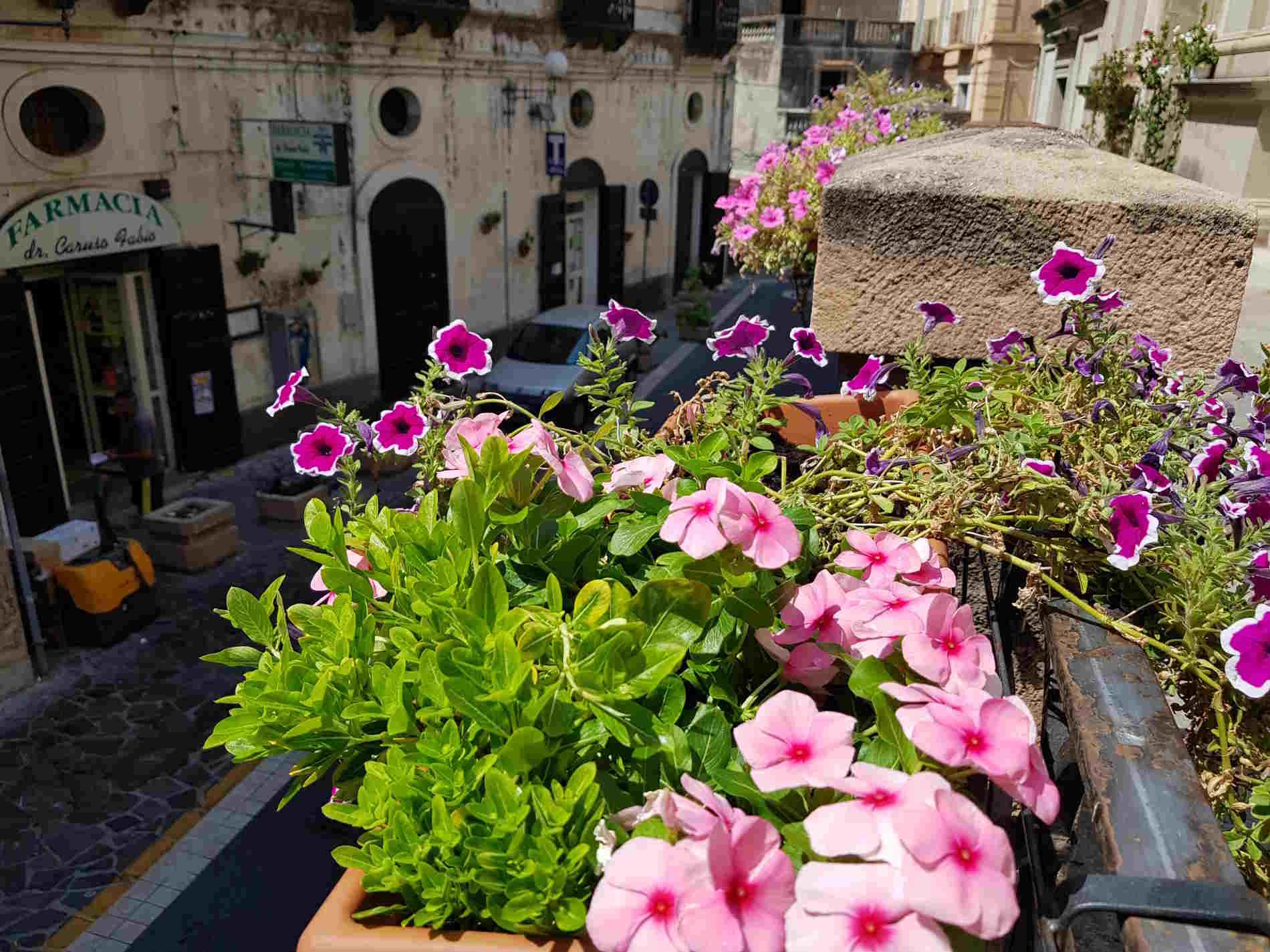 vicoli del centro storico di Cetraro Cosenza
