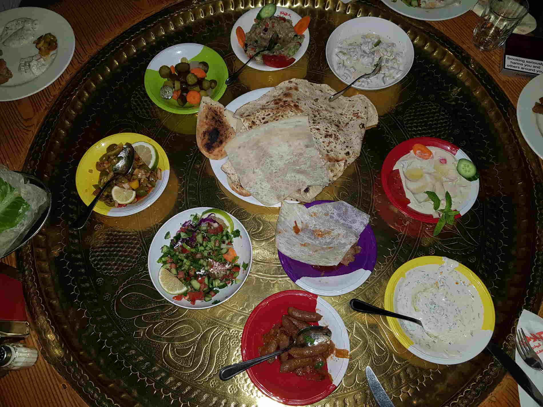 Dove mangiare ad Amman Ristorante Reem Albawadi