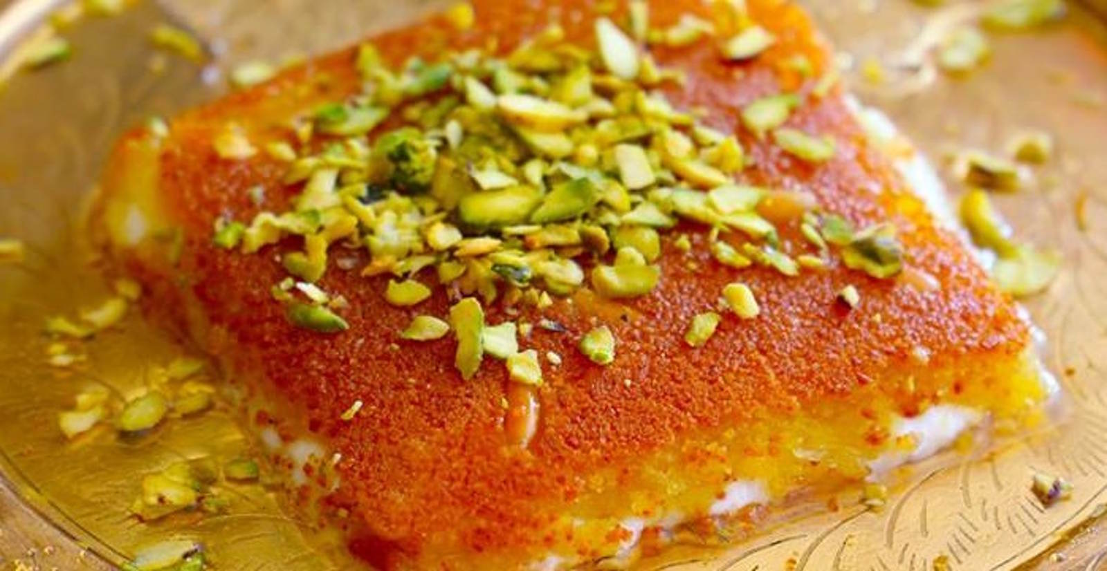 Kanafeh dolce tipico di Amman