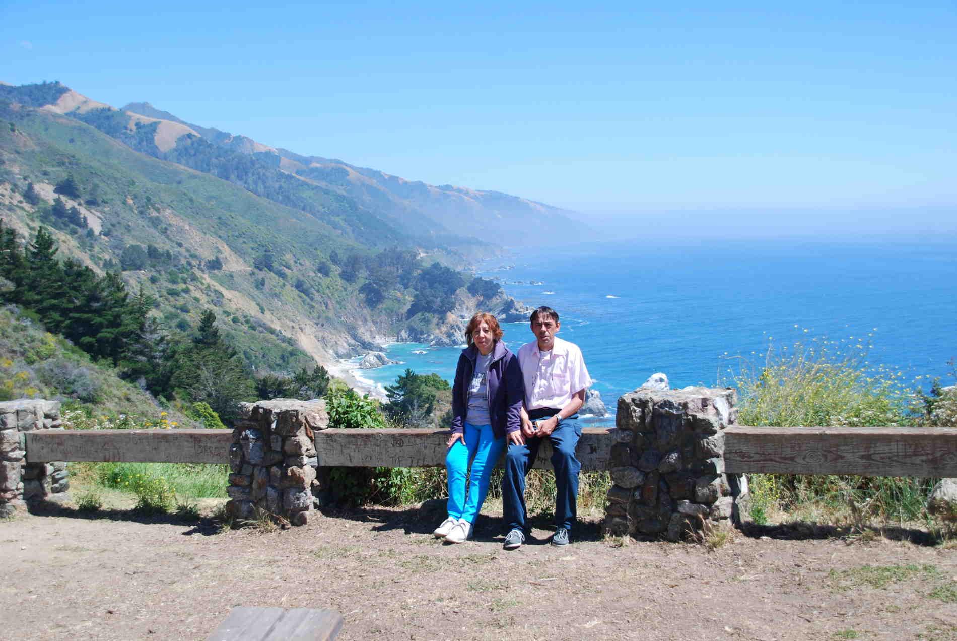 Nonni Avventura al Big Sur in California Viaggiare-per non invecchiare