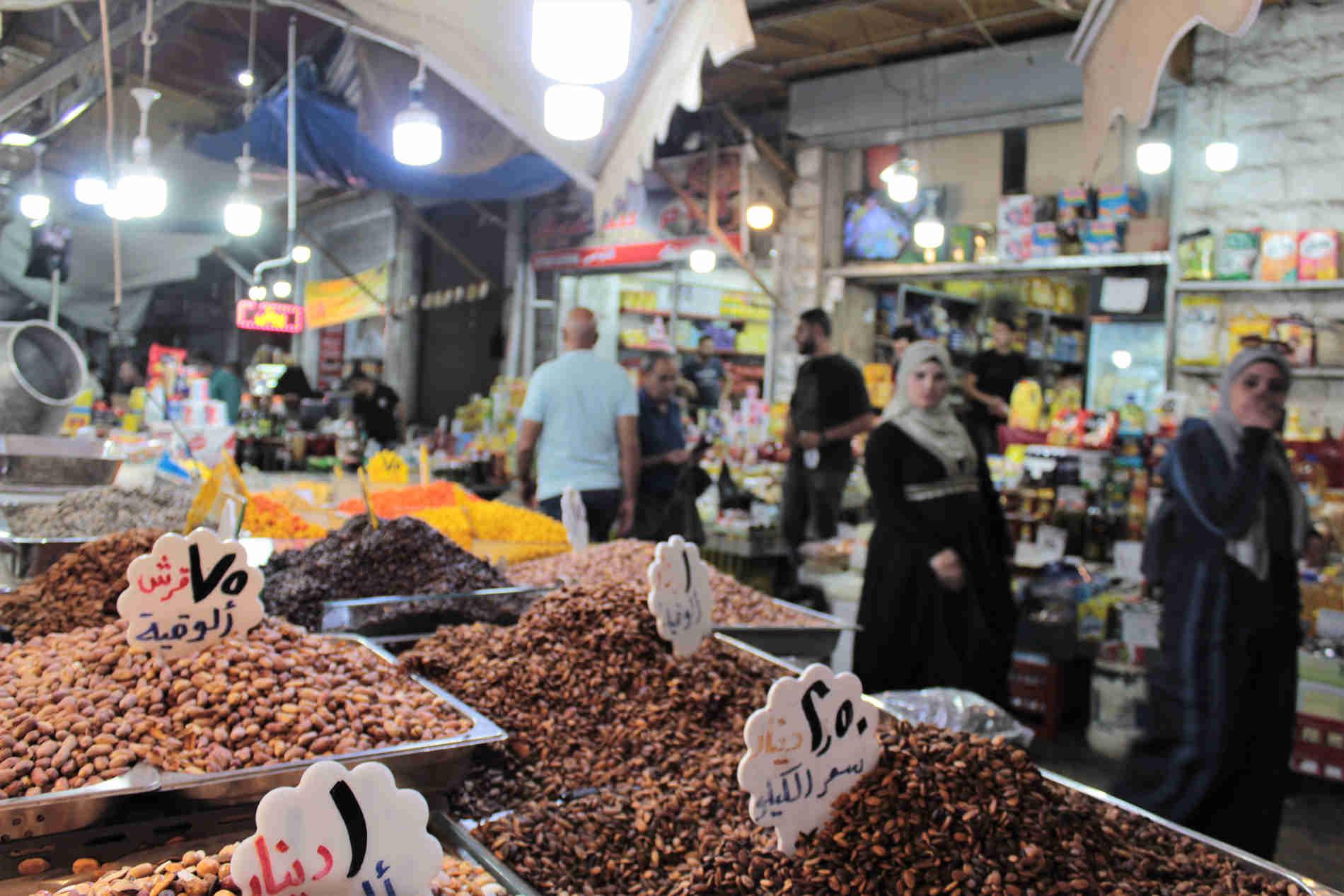 """Souk el-Khodra, il colorato e profumato """"Mercato della frutta fresca e delle verdure"""""""