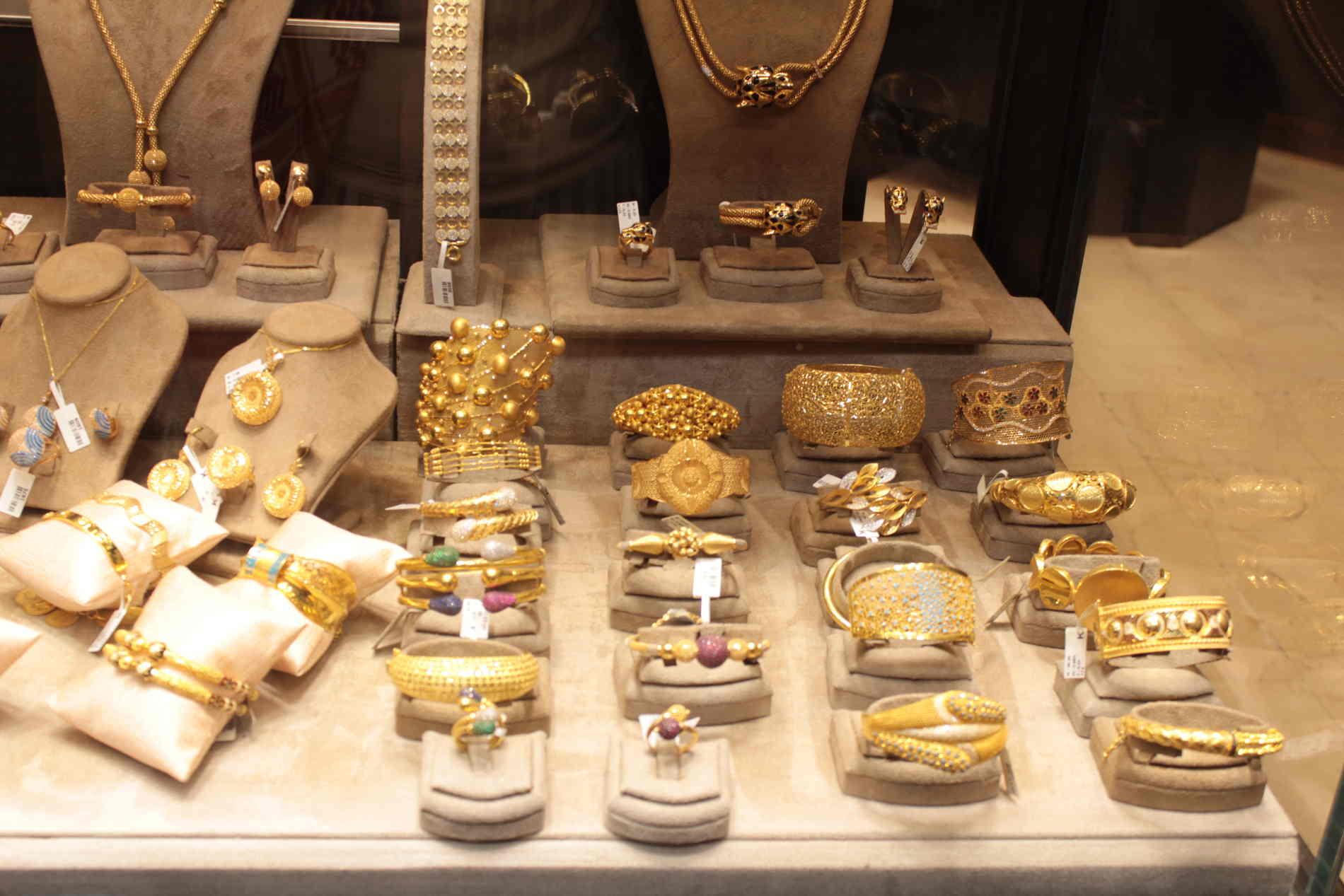 Souk el-Sagha (il mercato dell'oro)