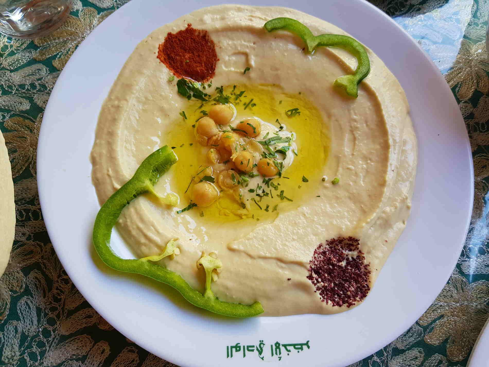 Hummus, la salsina tipica della Giordania