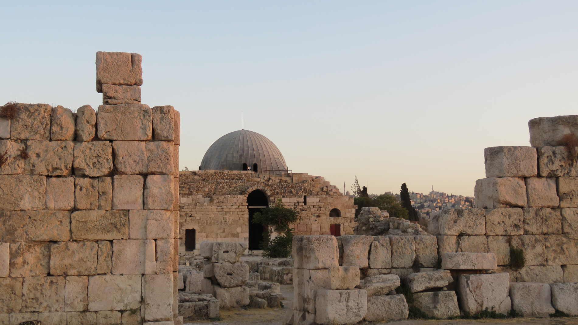 Cosa vedere nella Cittadella di Amman Complesso del Palazzo Omayyade