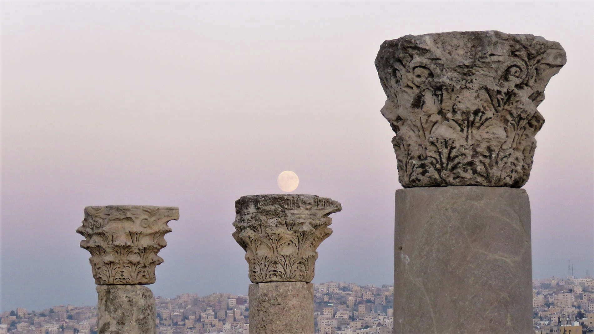 Cosa vedere ad Amman - Imbrunire dalla cittadella