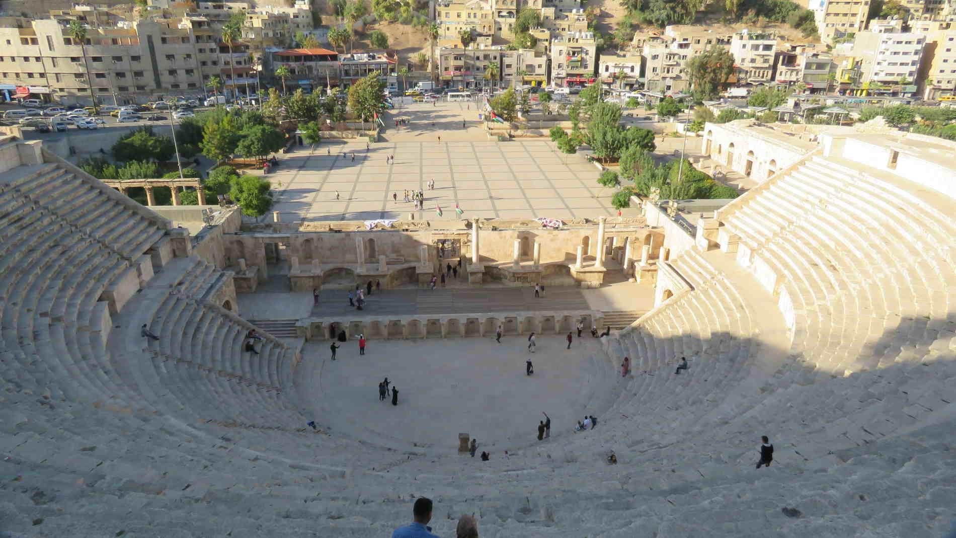 Cosa vedere ad Amman Teatro Romano