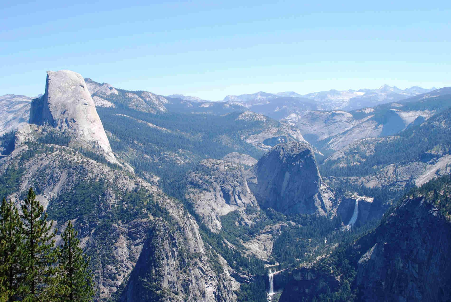 Parco Nazionale dello Yosemite panorama