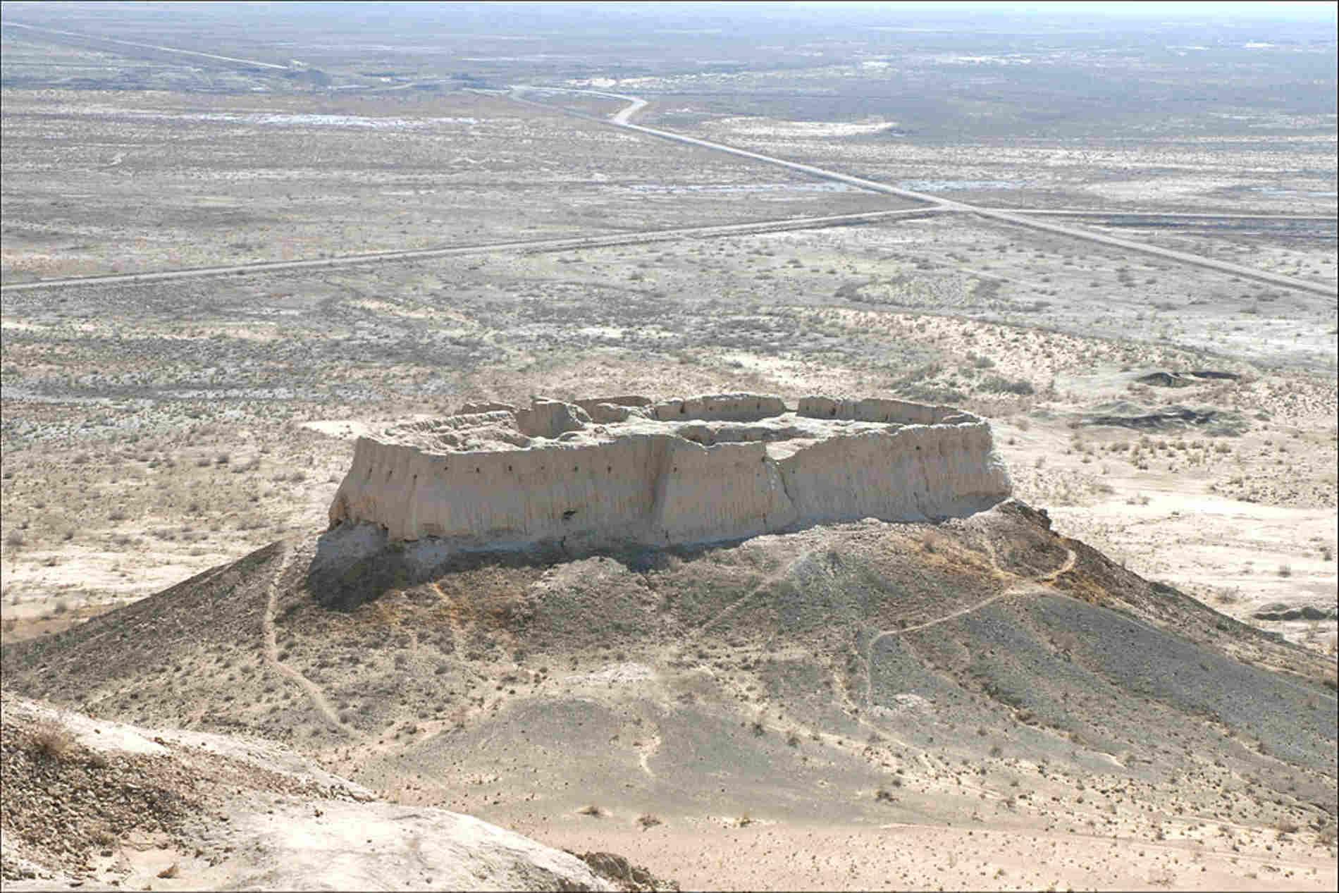 Fortezza di Ayaz Kala Uzbekistan