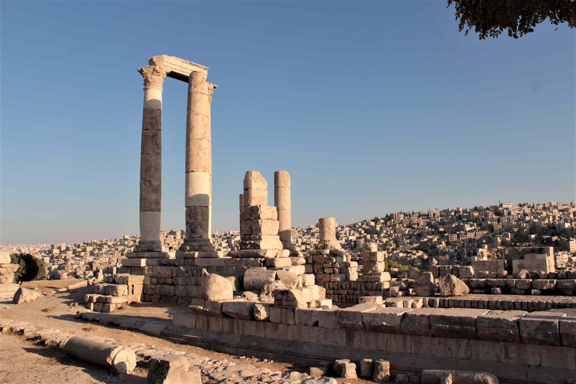 la Cittadelella di Amman cose luoghi imperdibili da visitare in Giordania