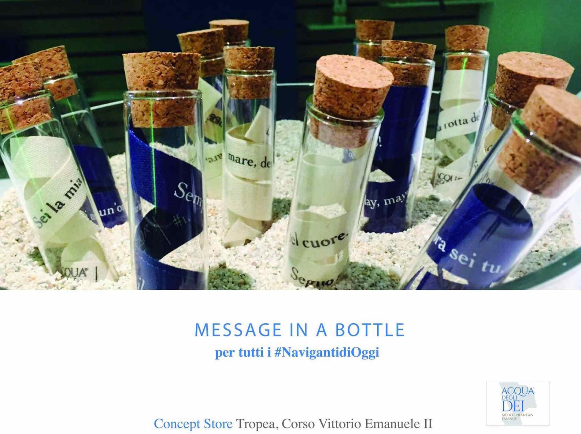 Messaggio imprenditoriale da Acqua degli Dei Mediterranean essence