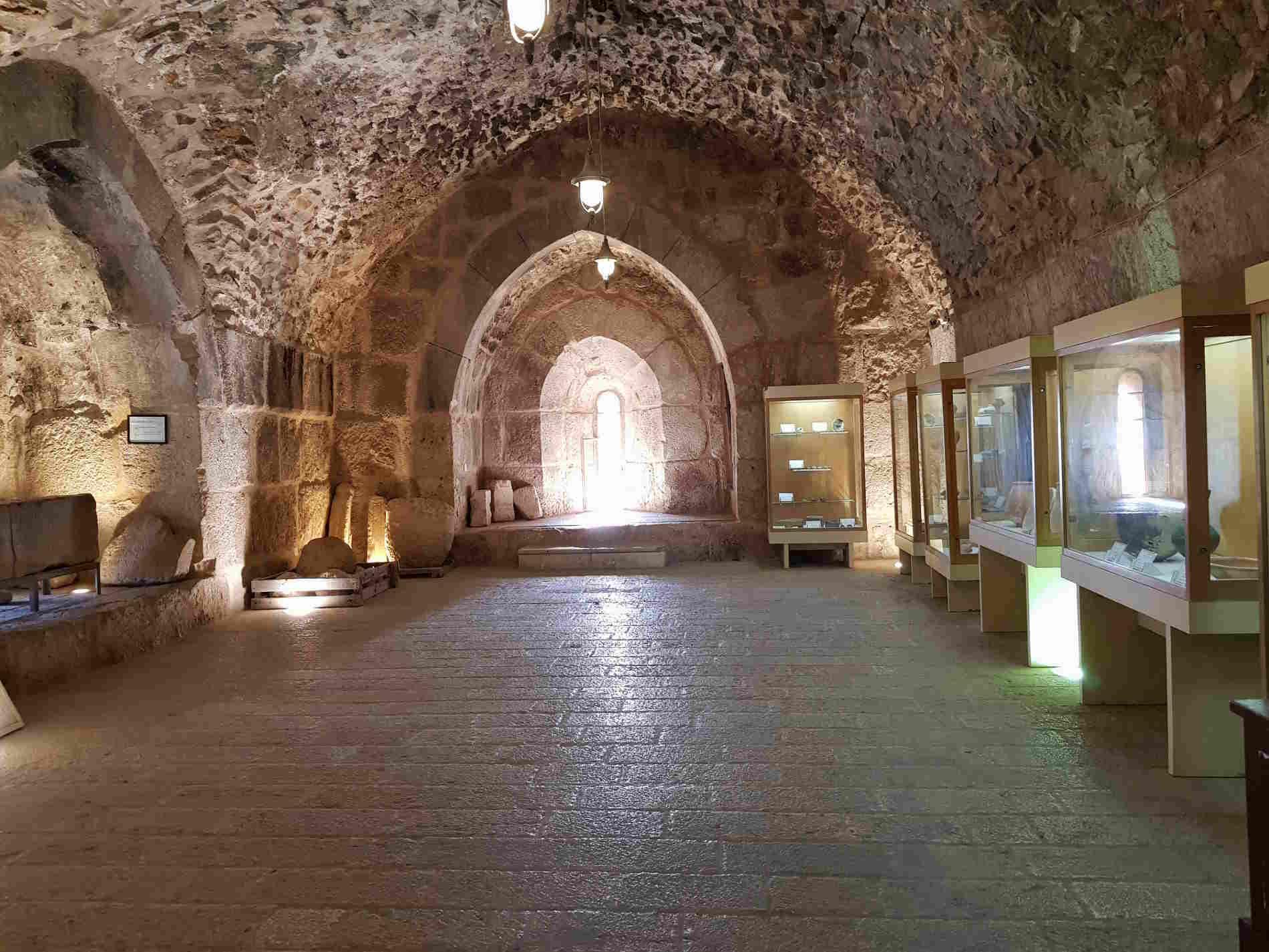 Museo Archeologico nel Castello di Ajlun in Giordania