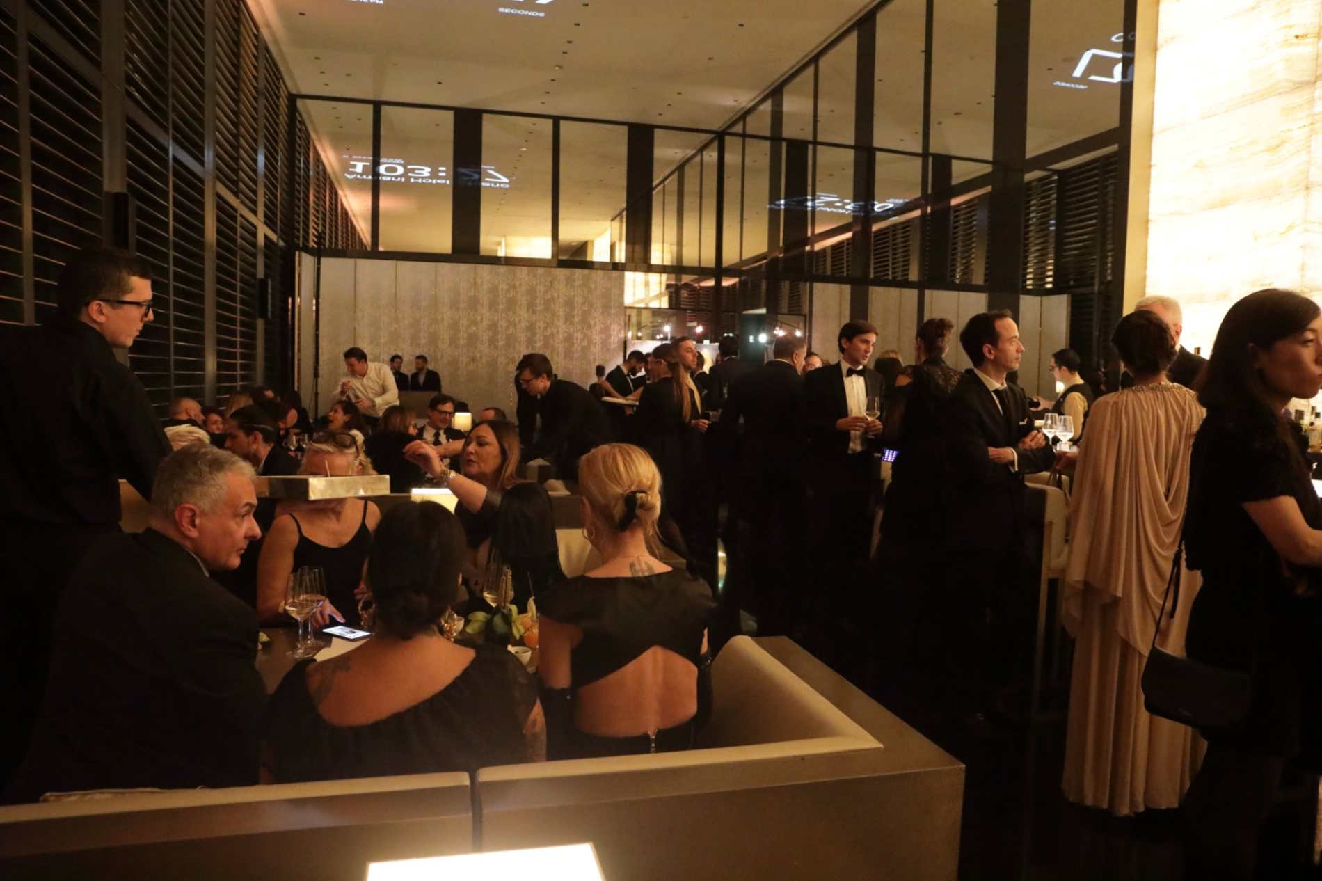 Nella Lounge dell'Armani Hotel a Milano per il Capodanno 2020