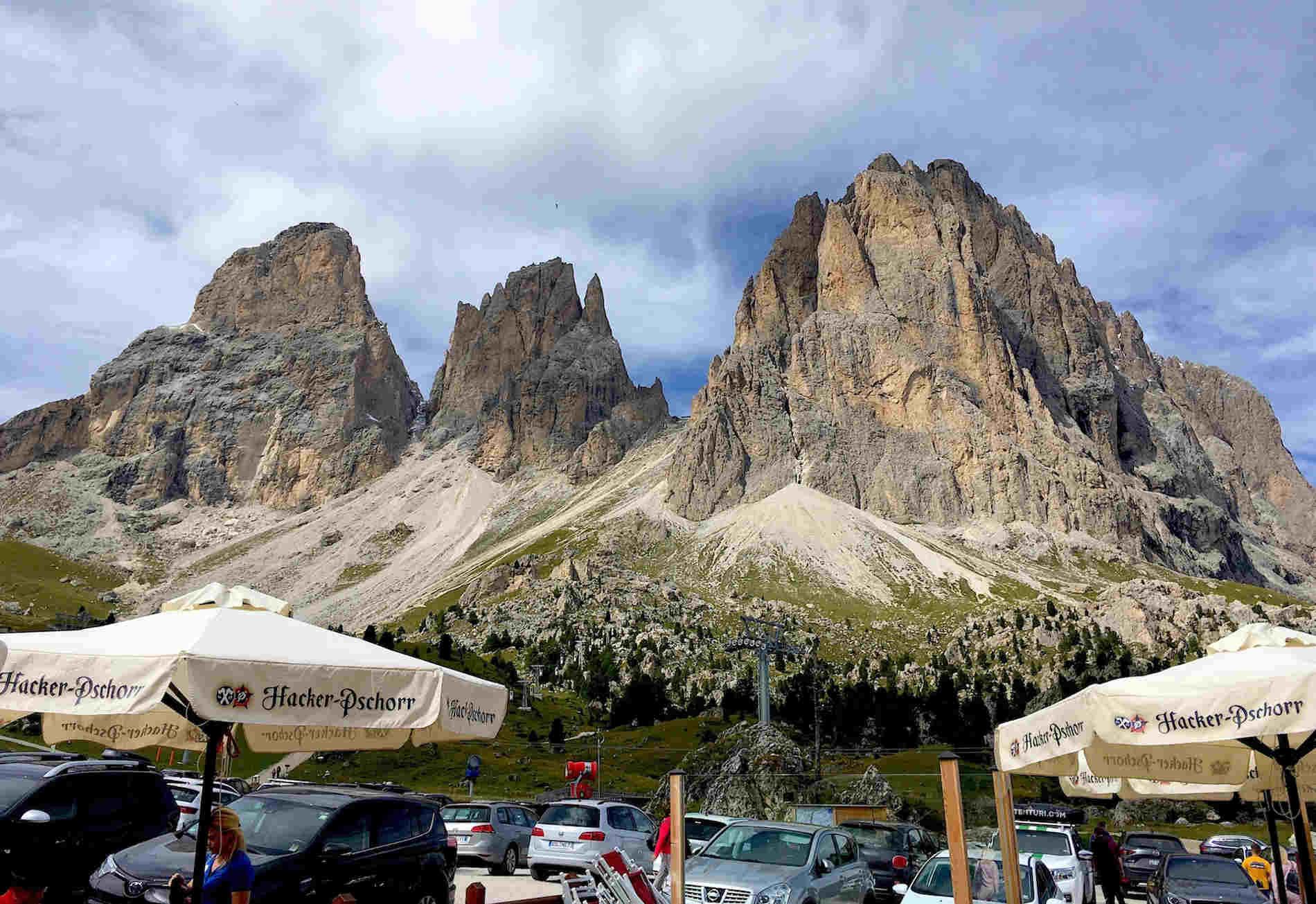 Il Sassolungo un trekking fantastico sulle Dolomiti