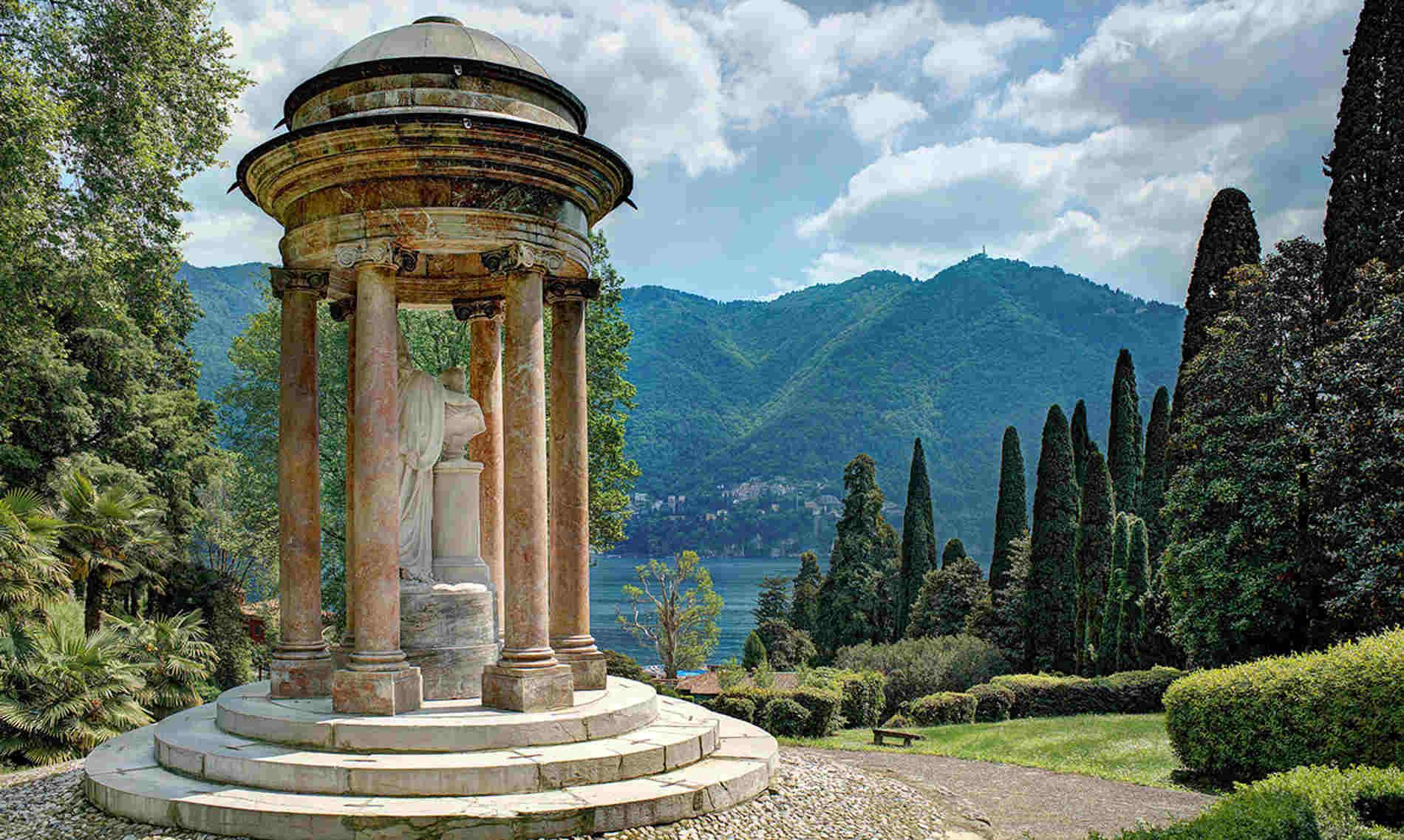 Villa d'Este sul Lago di Como da vedere dal battello
