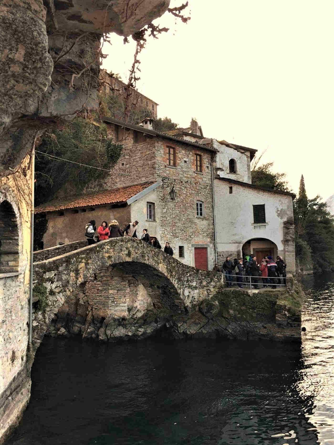 Ponte della Civera a Nesso sul Lago di Como