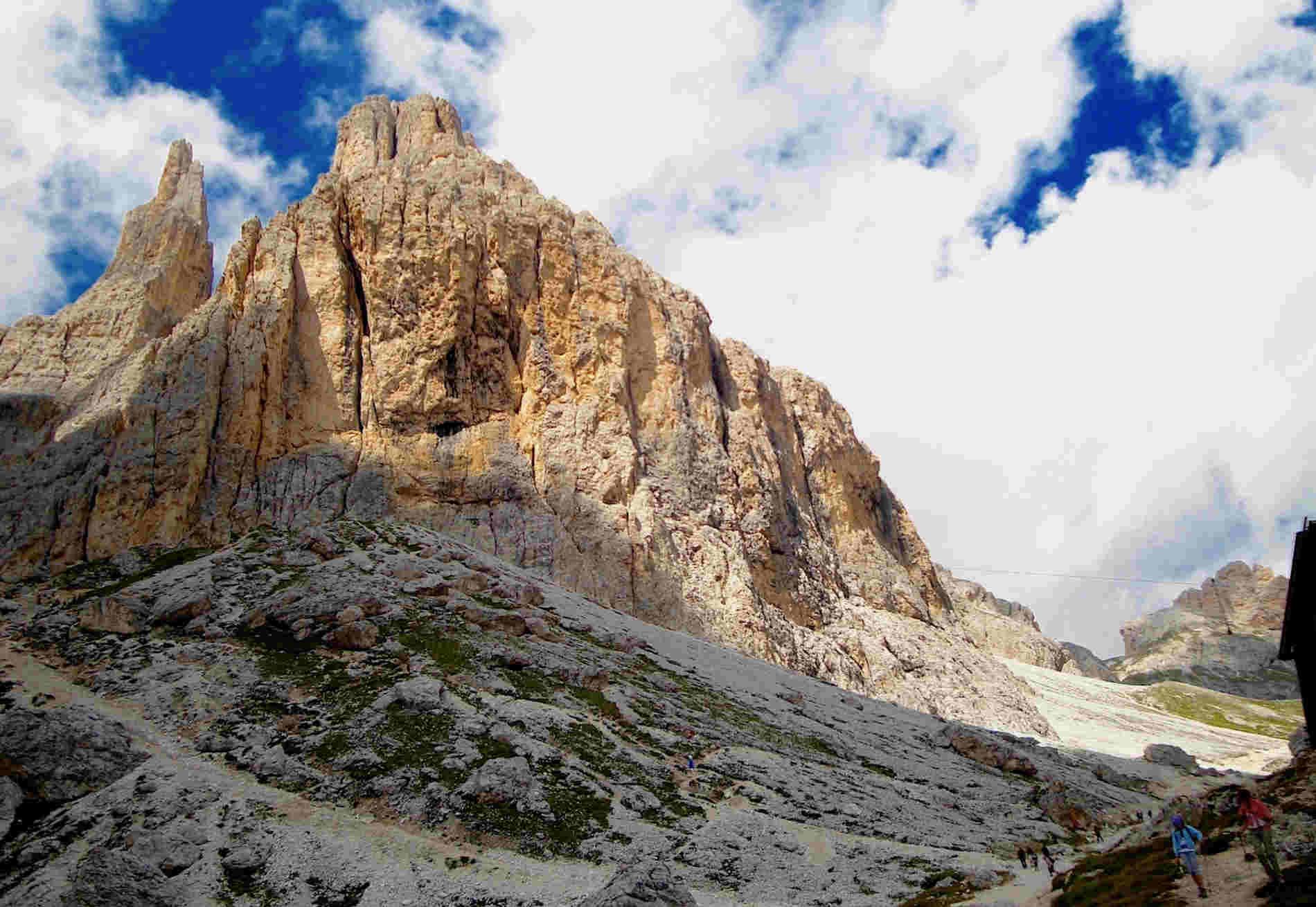 trekking fantastici sulle Dolomiti il Rifugio Vajolet