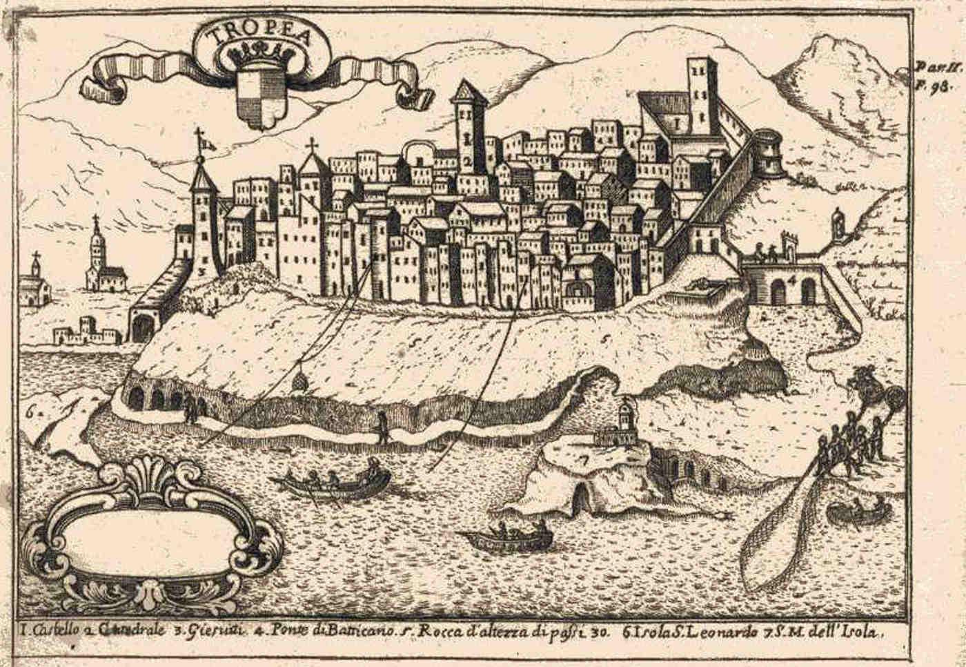 Antica Mappa di Tropea cosa vedere e fare nel cuore della costa degli Dei Storia