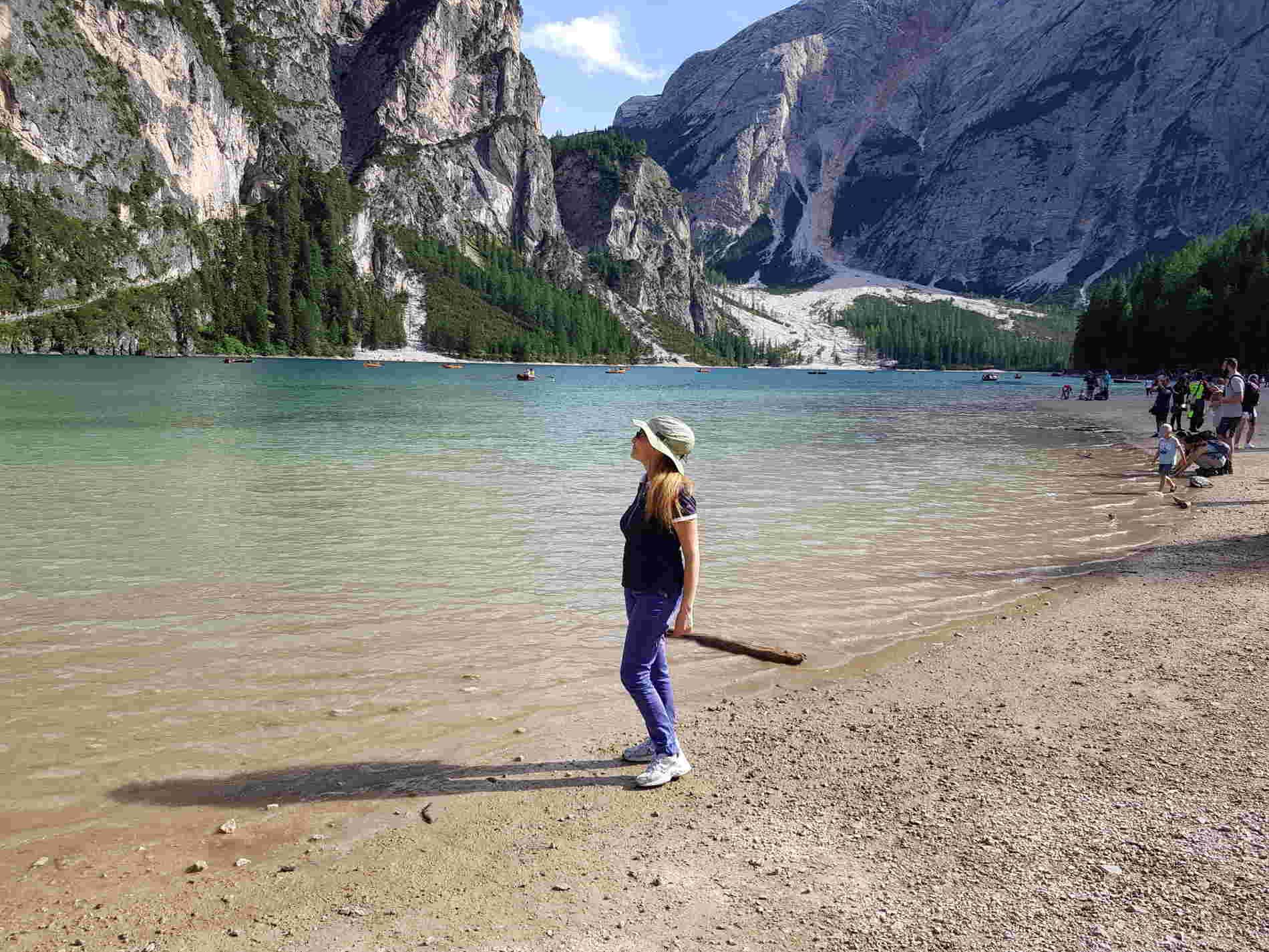 spuntidiviaggio sul Lago di Braies in Val Pusteria
