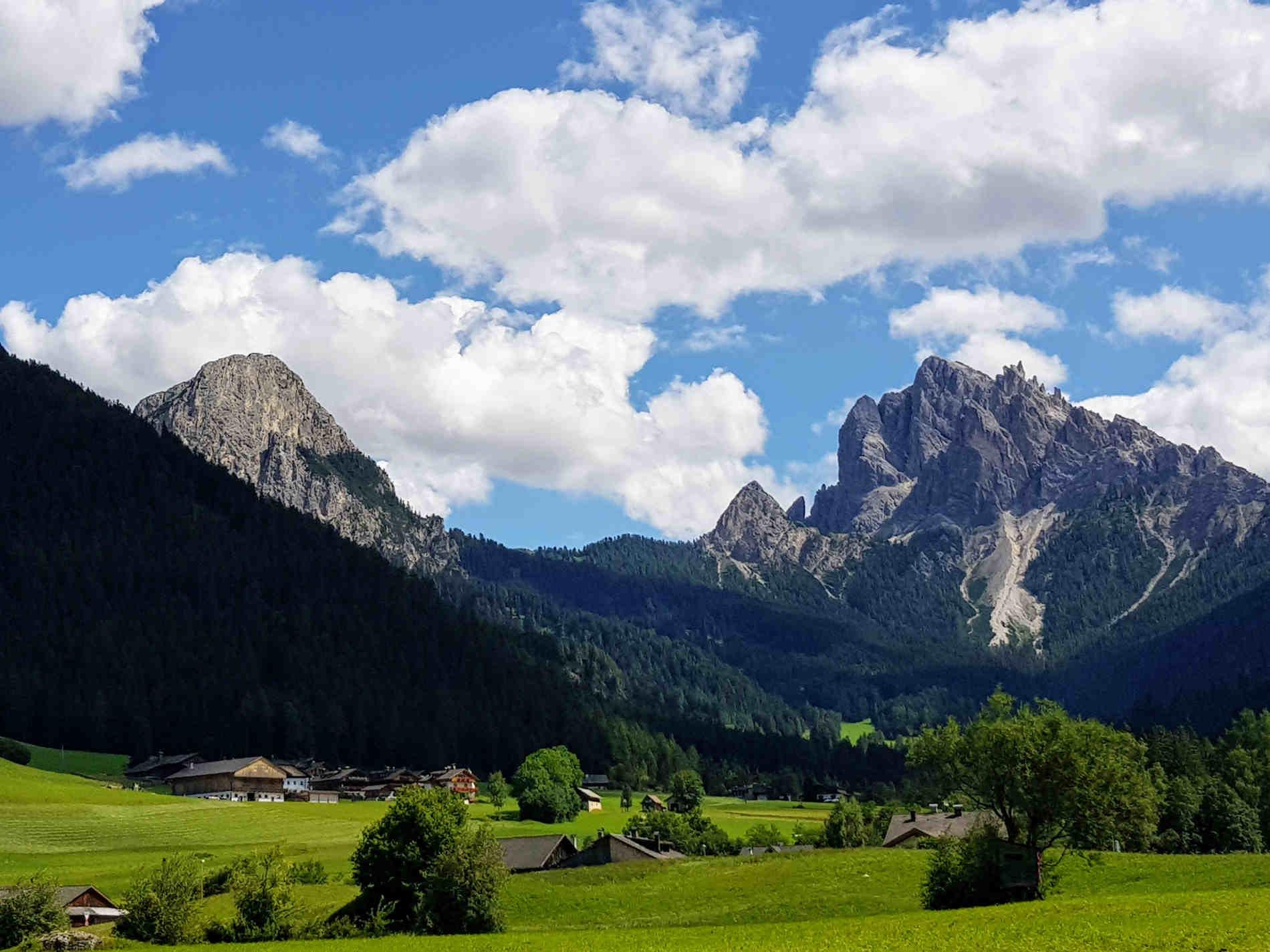Panorami della Valle di Braies in Val Pusteria