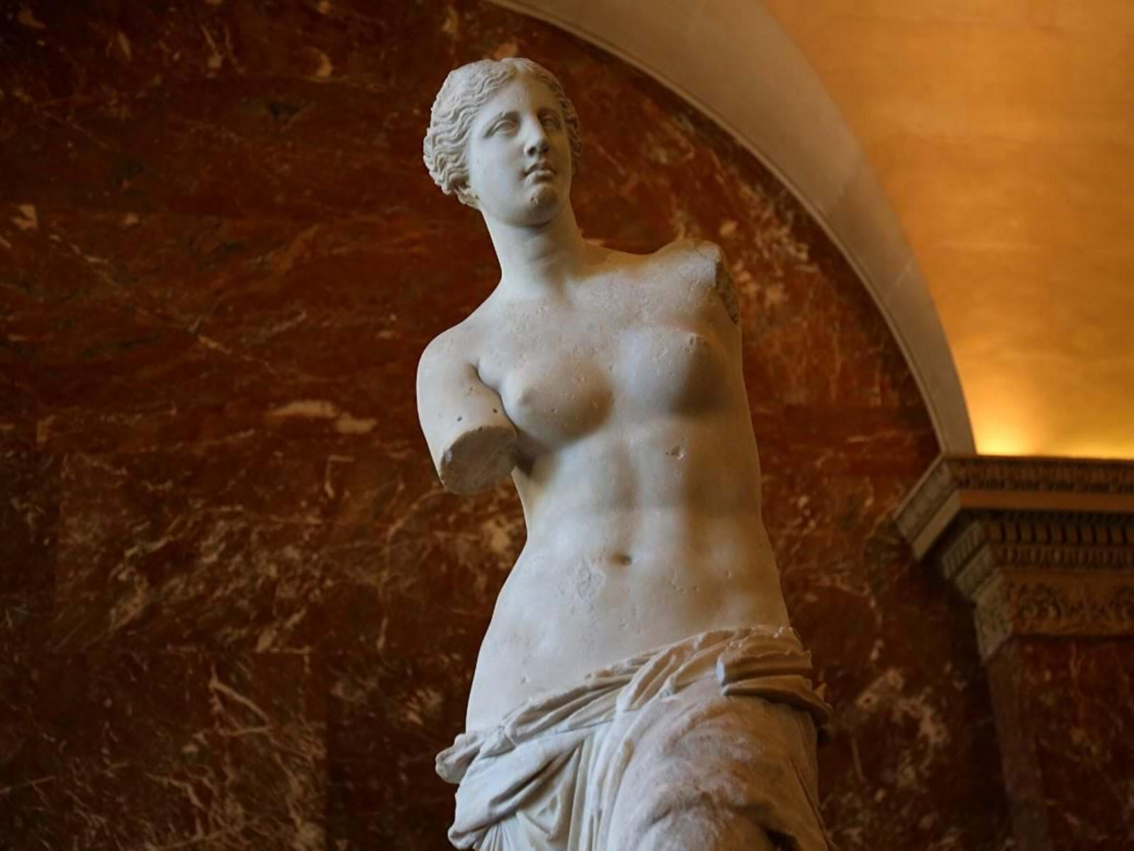 La Venere di Milo al Louvre a Parigi Viaggi virtuali nei Musei