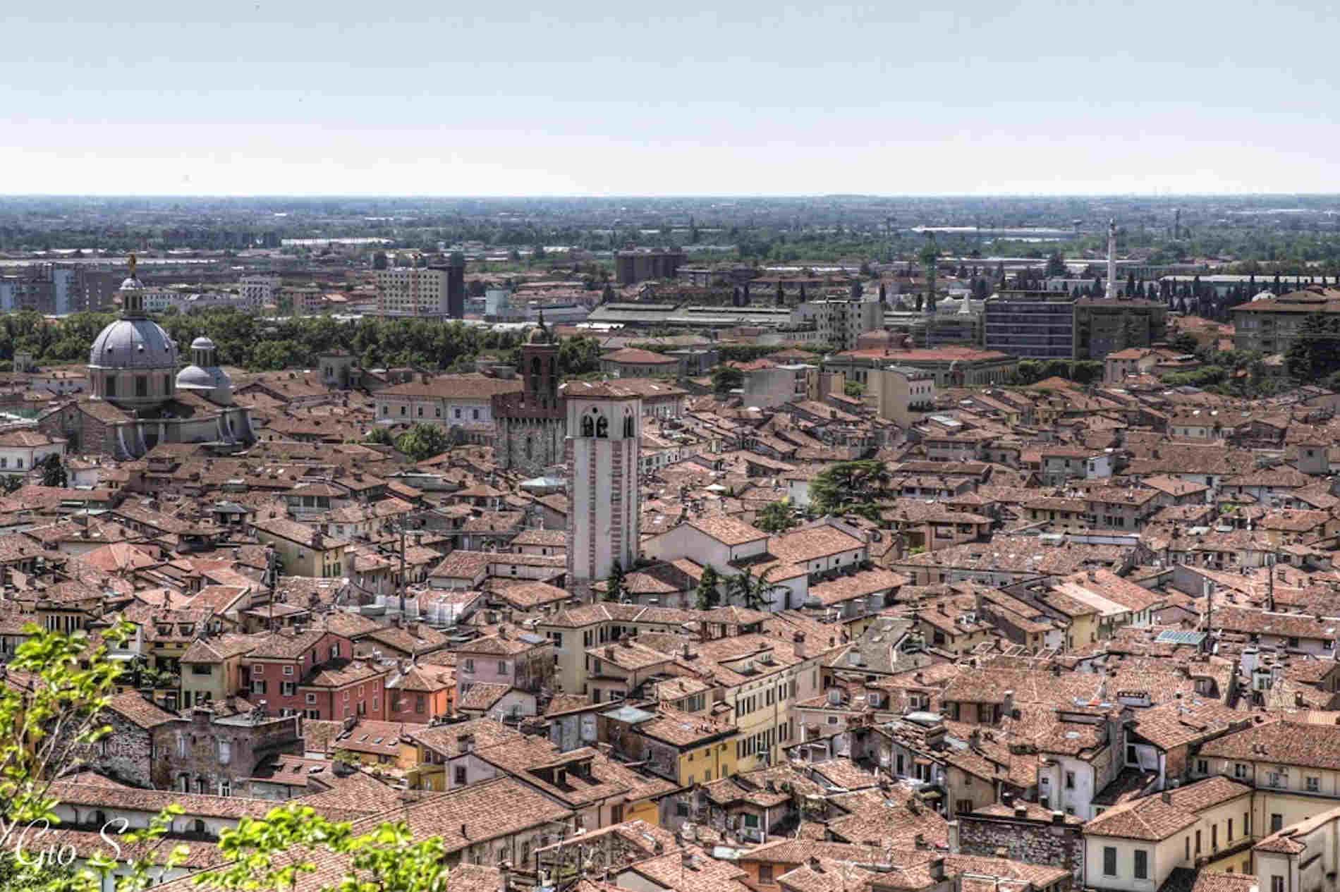 Cosa vedere a Brescia panorama dall'alto