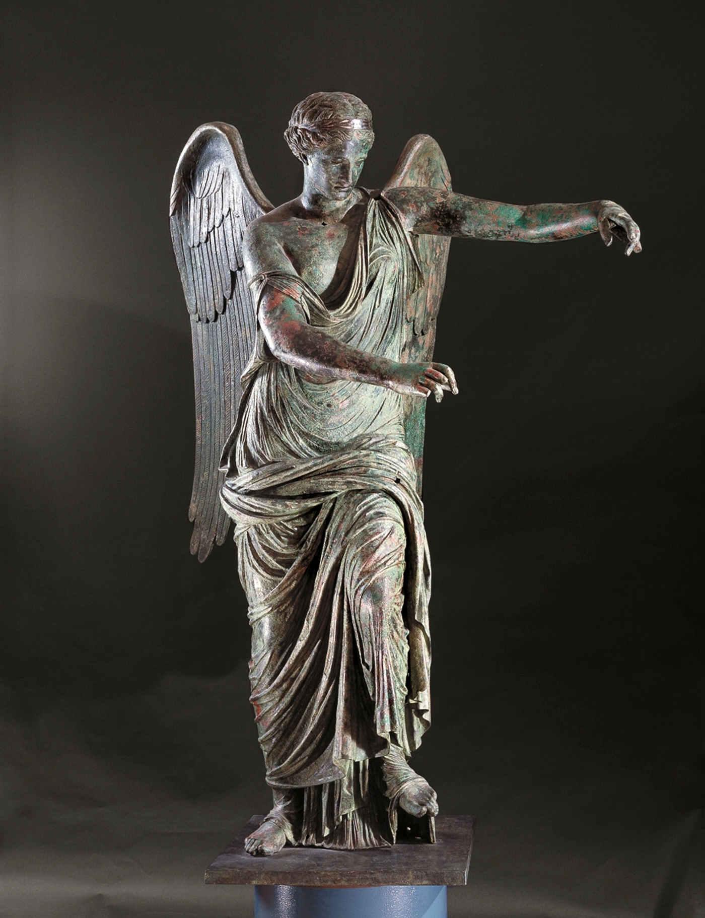 La statua della Vittoria Alata a Brescia