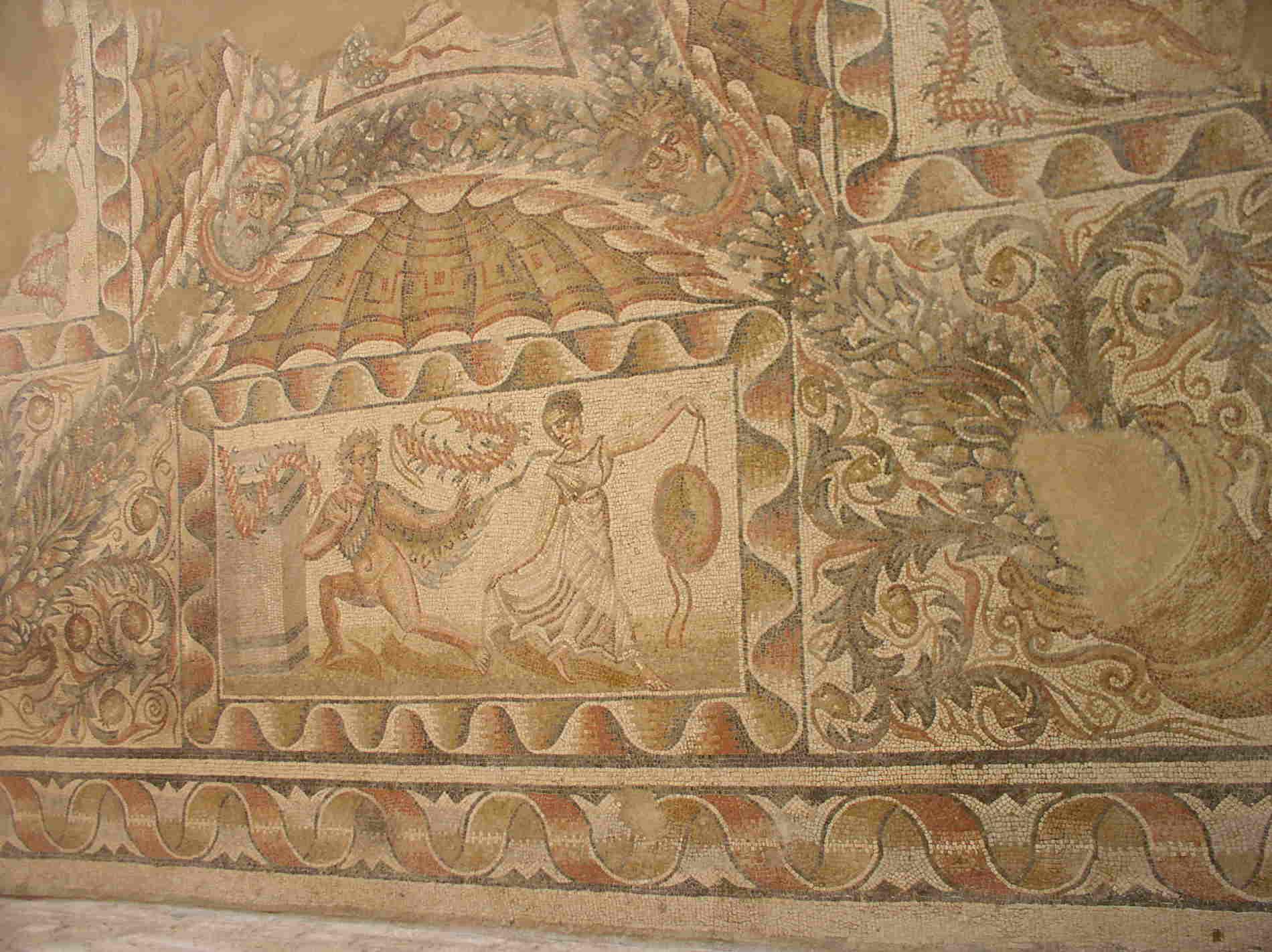 Villa Romana del Tellaro mosaici cose da vedere a Siracusa e dintorni
