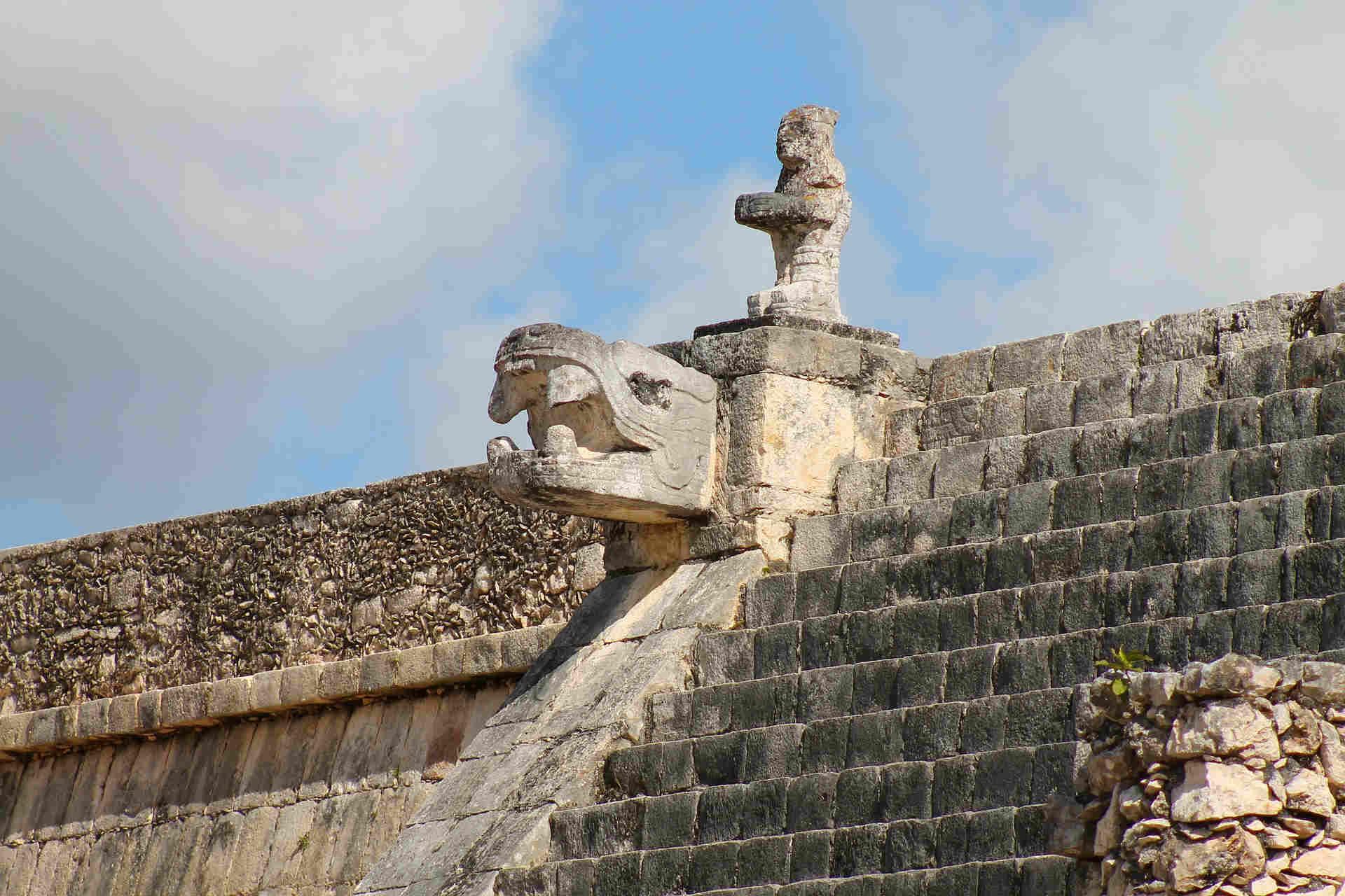 Templi e piramidi Chichén Itzá, nello Yucata, in Messico