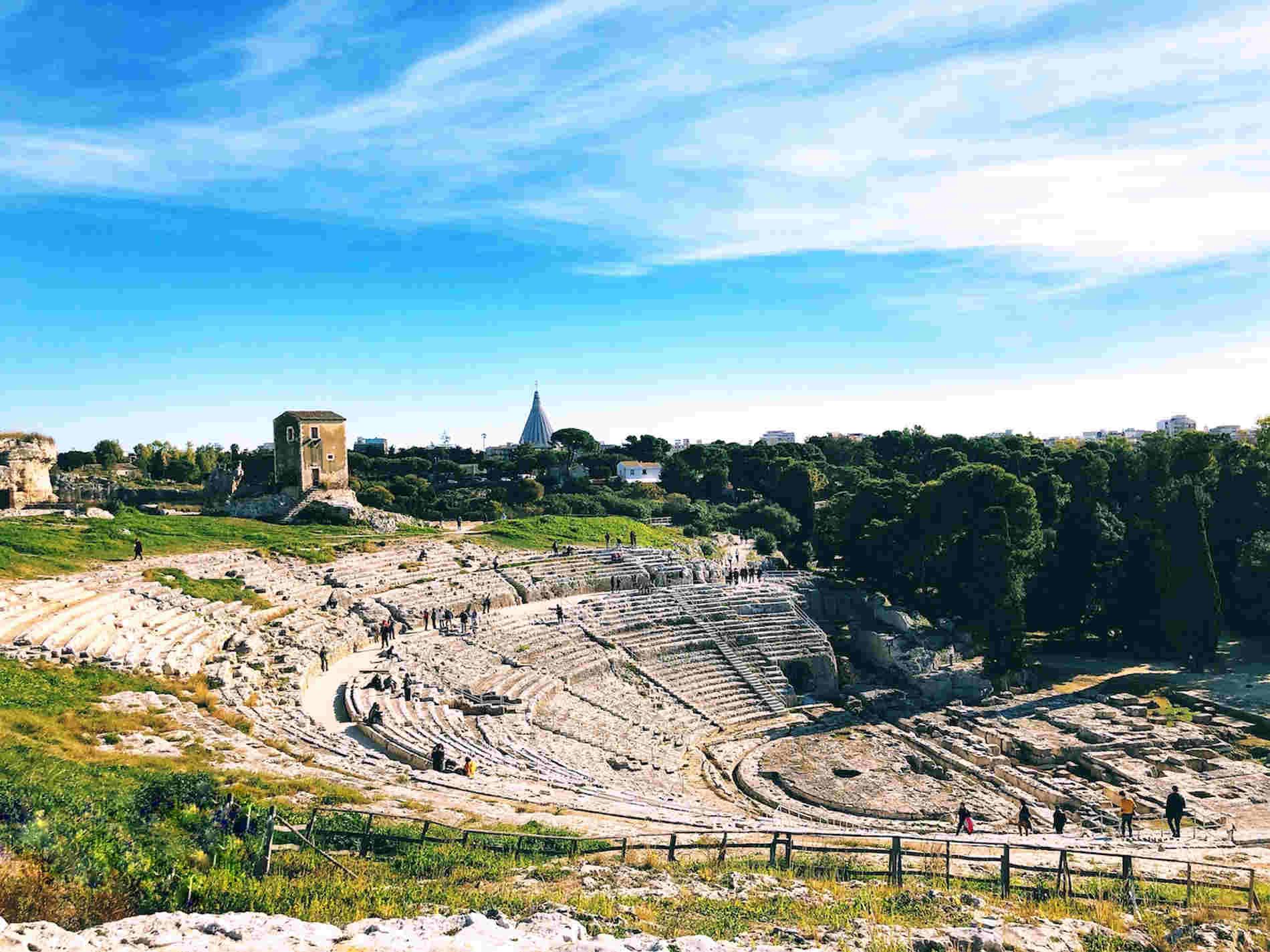 Il Teatro greco fra le cose da vedere a Siracusa
