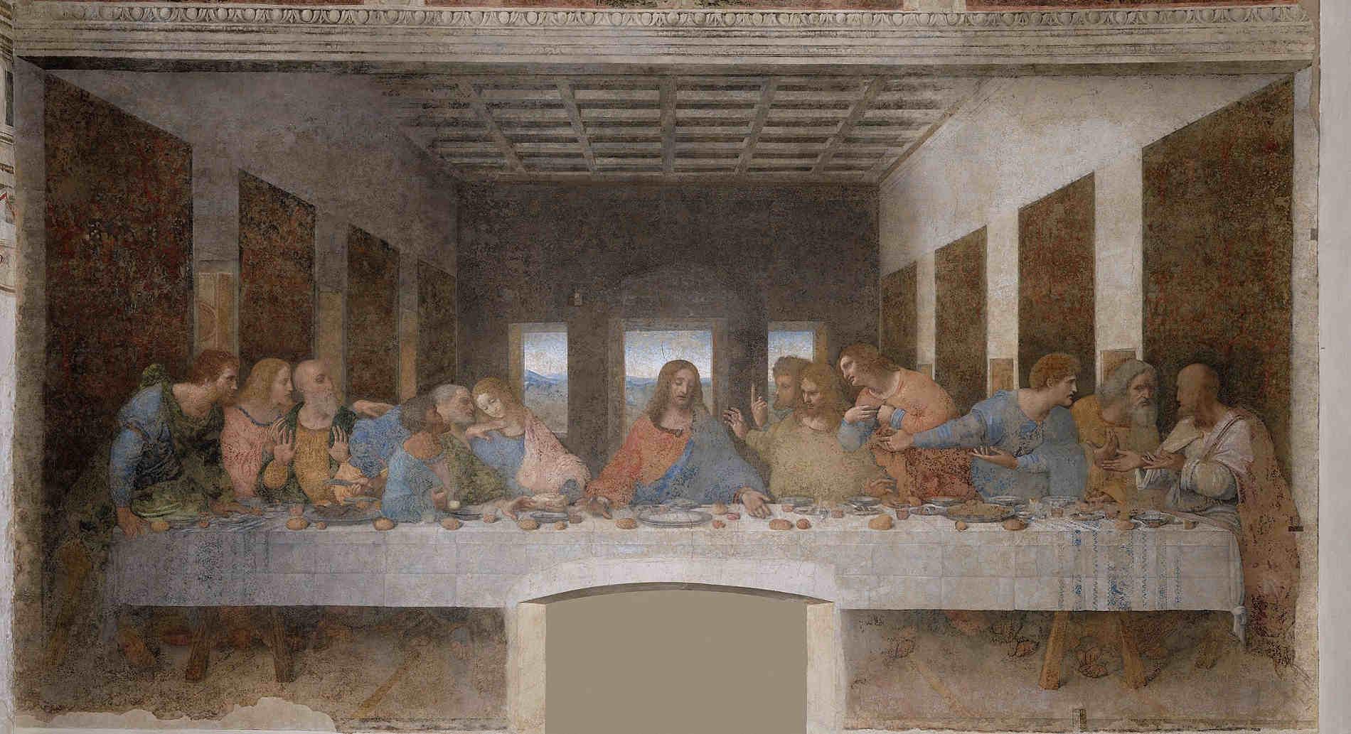 Cenacolo Vinciano a Milano Siti UNESCO in Italia