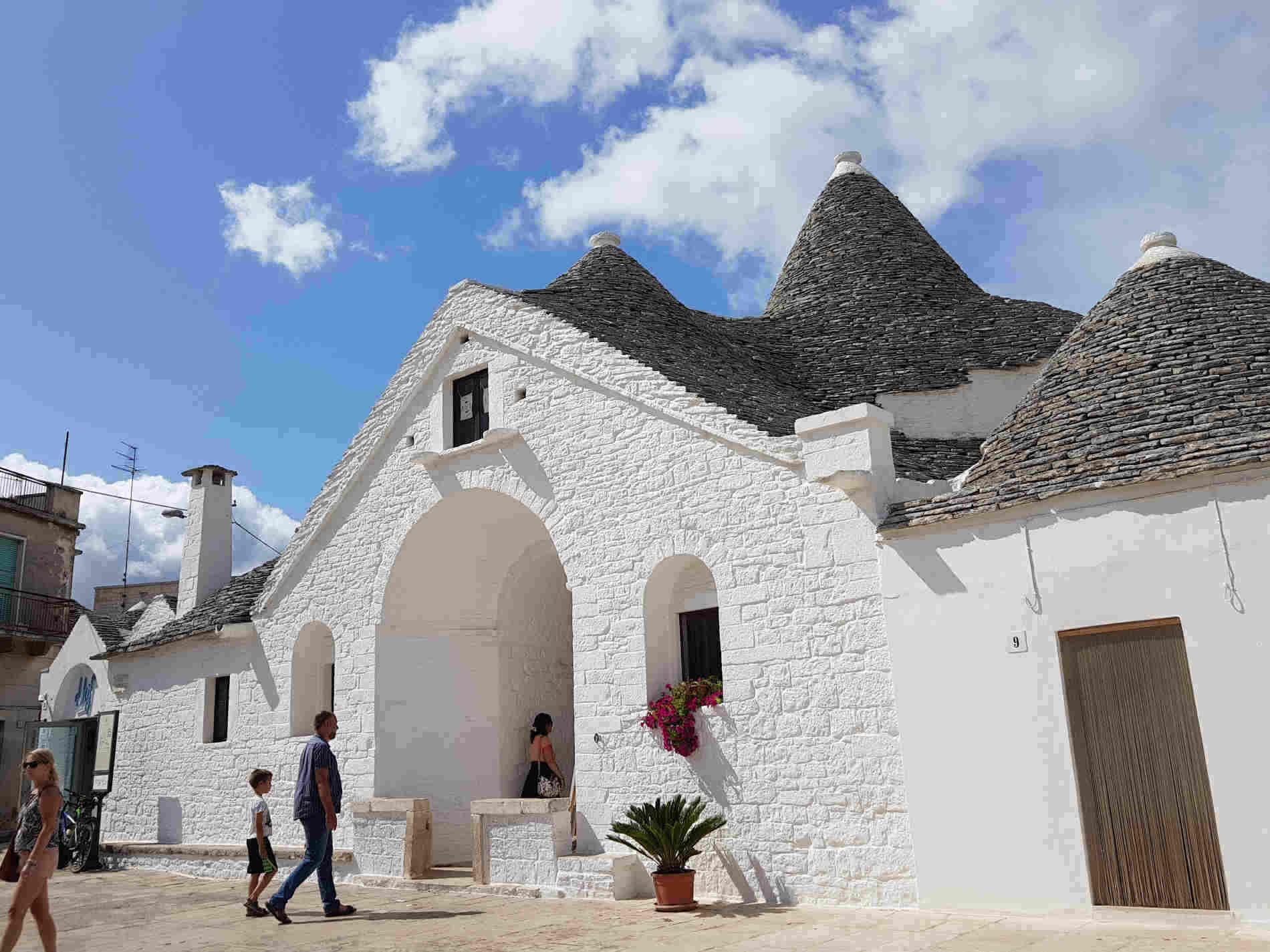 Trulli di Alberobello in Puglia Siti UNESCO in Italia