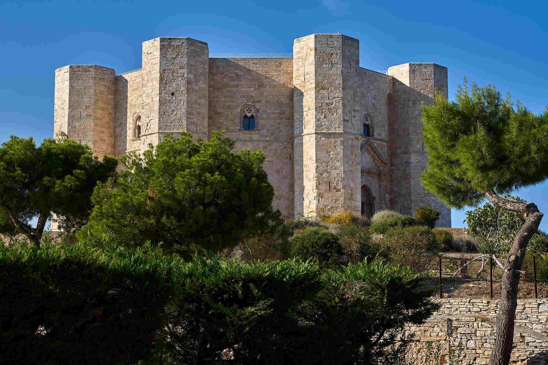 Castel del Monte sito Unesco in Puglia, Italia