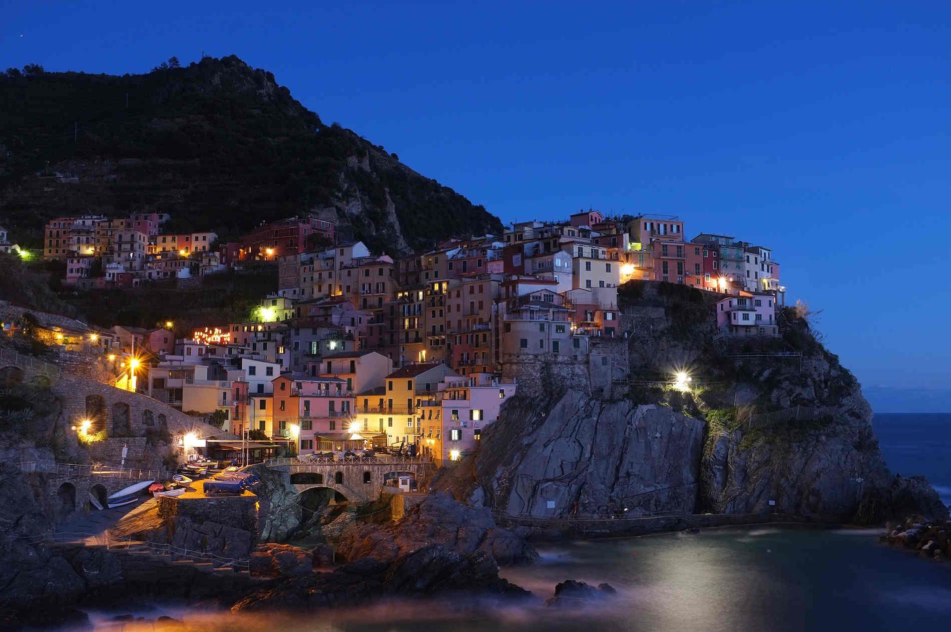 Panorami alle 5 Terre in Liguria Siti Unesco in Italia