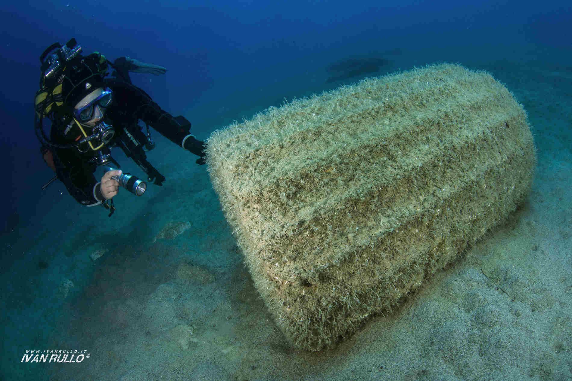 Parco Archeologico subacqueo dell'antica Kaulon a Monasterace Marina Esperienze subacquee Reggio Calabria