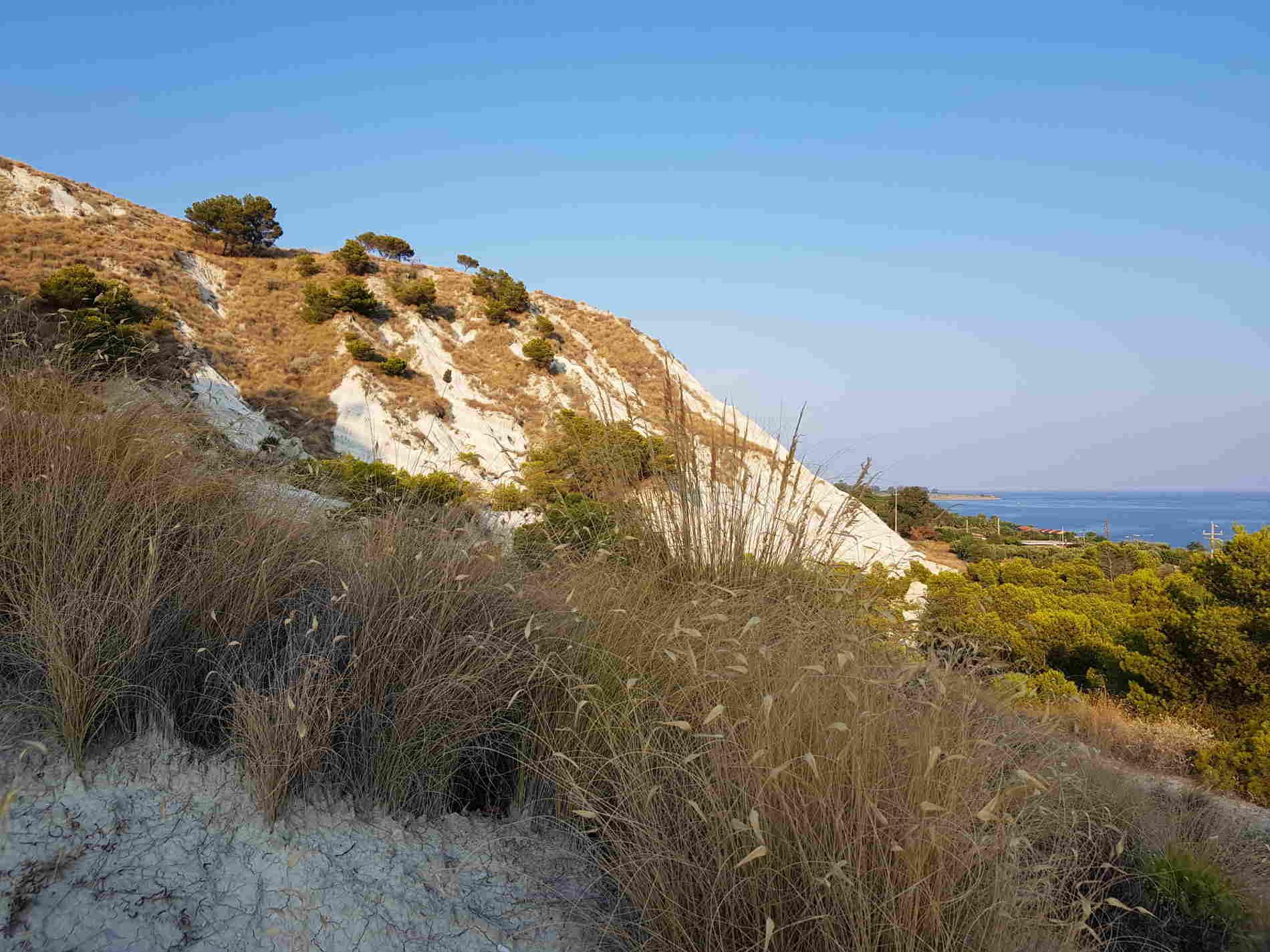 Sito di Interesse Comunitario Calanchi Bianchi di Palizzi Marina Reggio Calabria