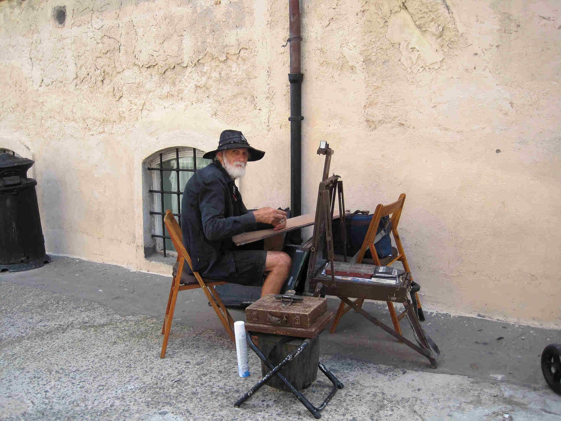 Artisti a Tropea sulla Costa degli Dei