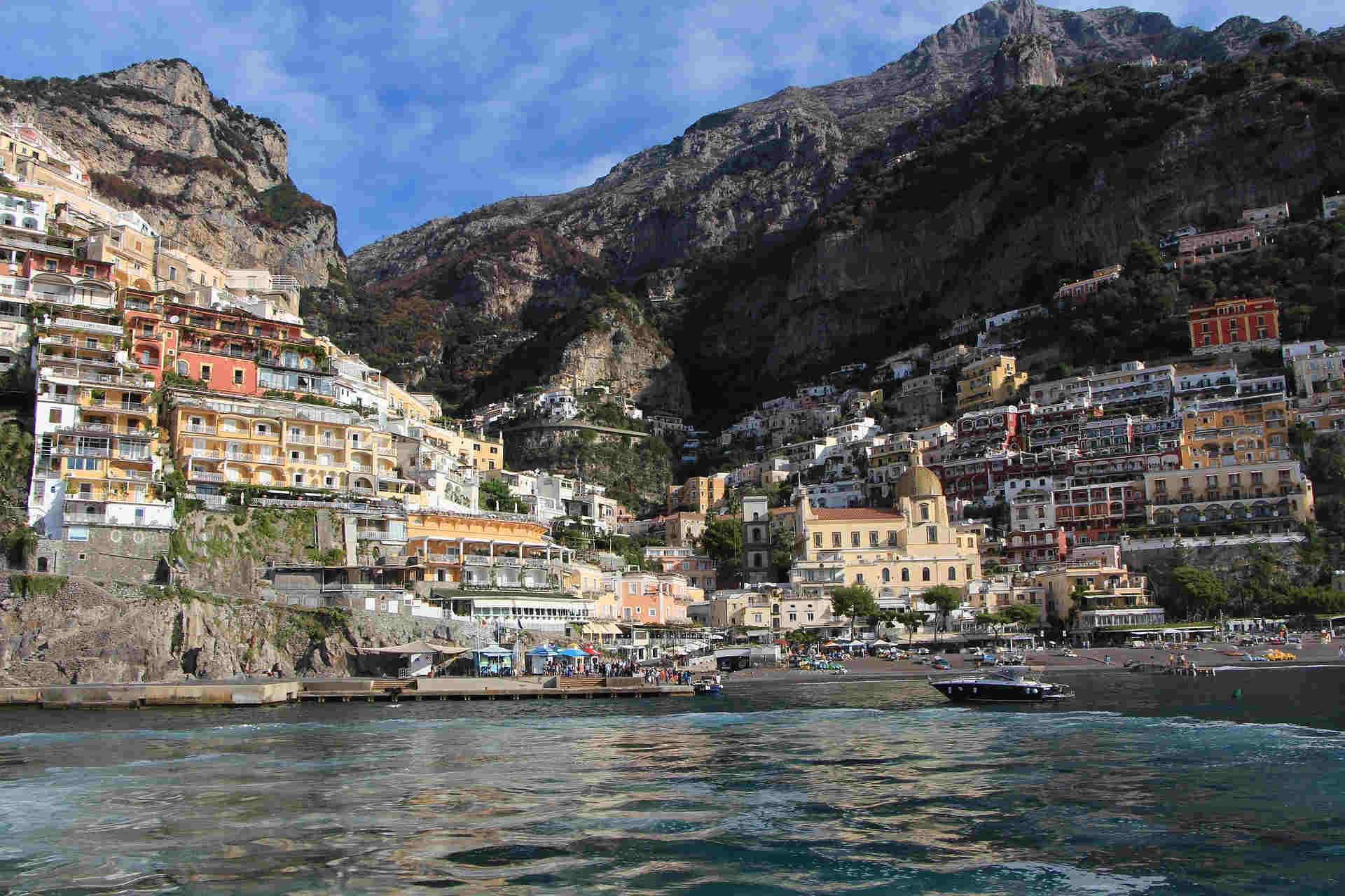 Positano e la Costiera Amalfitana Siti UNESCO in Italia