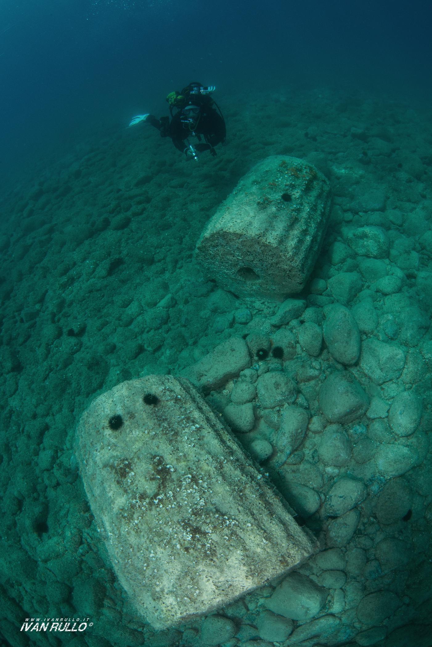 Parco Archeologico subacqueo dell'antica Kaulon a Monasterace Marina Reggio Calabria