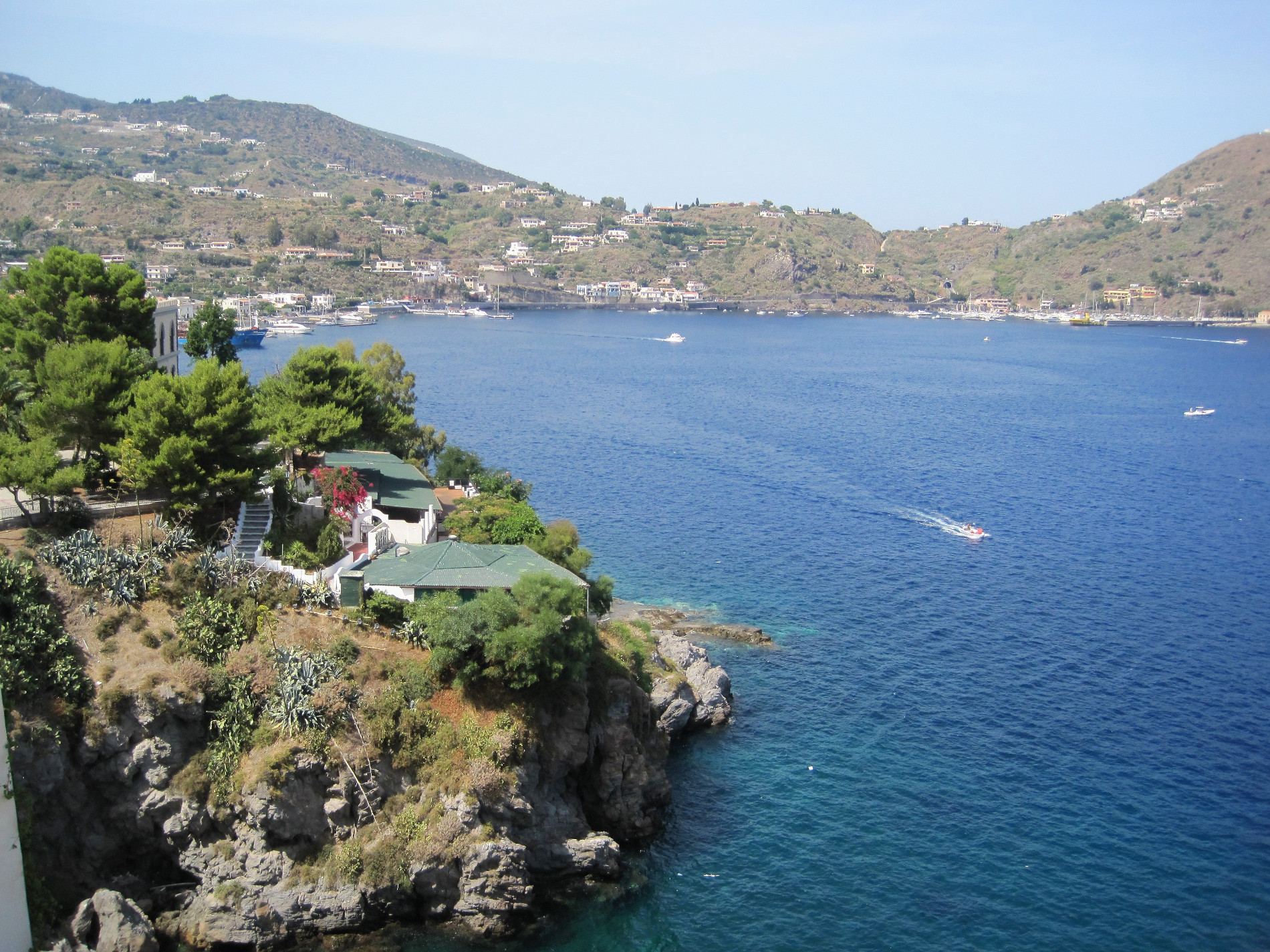 vista di Lipari Eolian Island