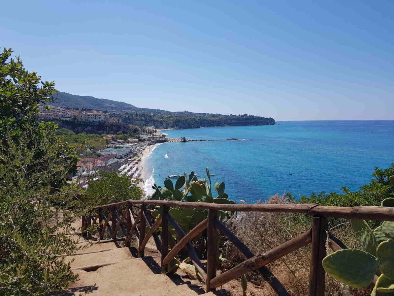 A Santa Maria dell'Isola Tropea Calabria Italia