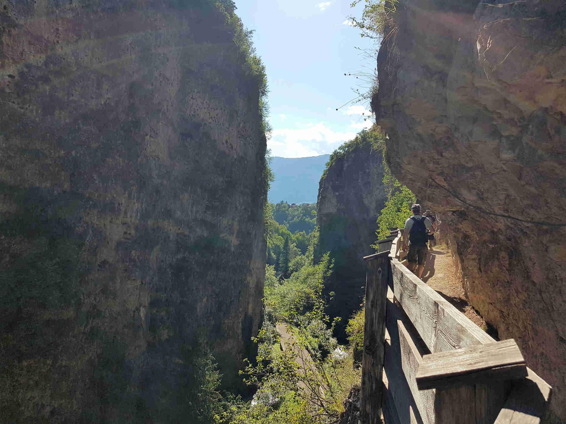 Passeggiata al Santuario di San Romedio Val di Non, la Forra