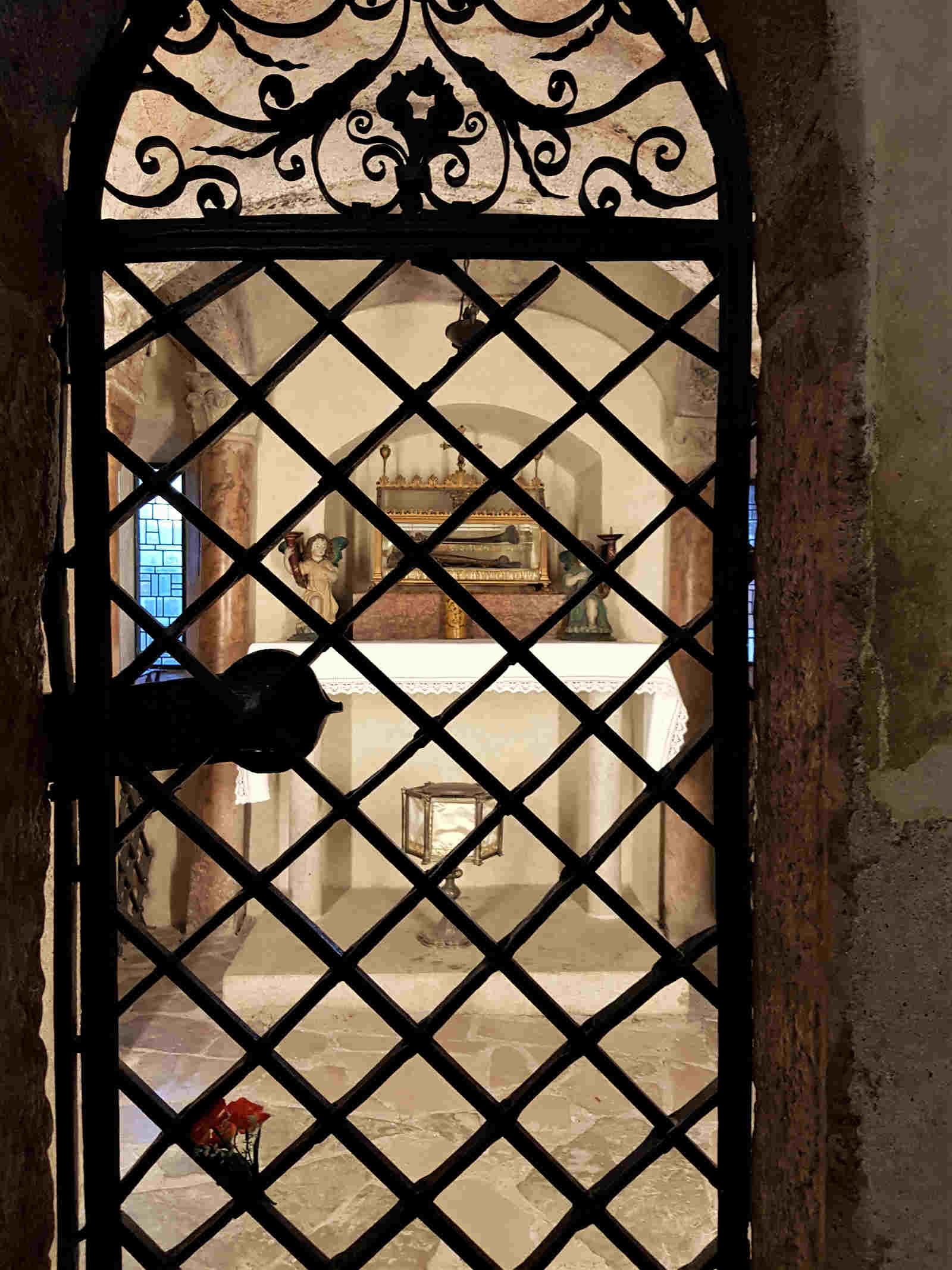 Il sacello di San Romedio
