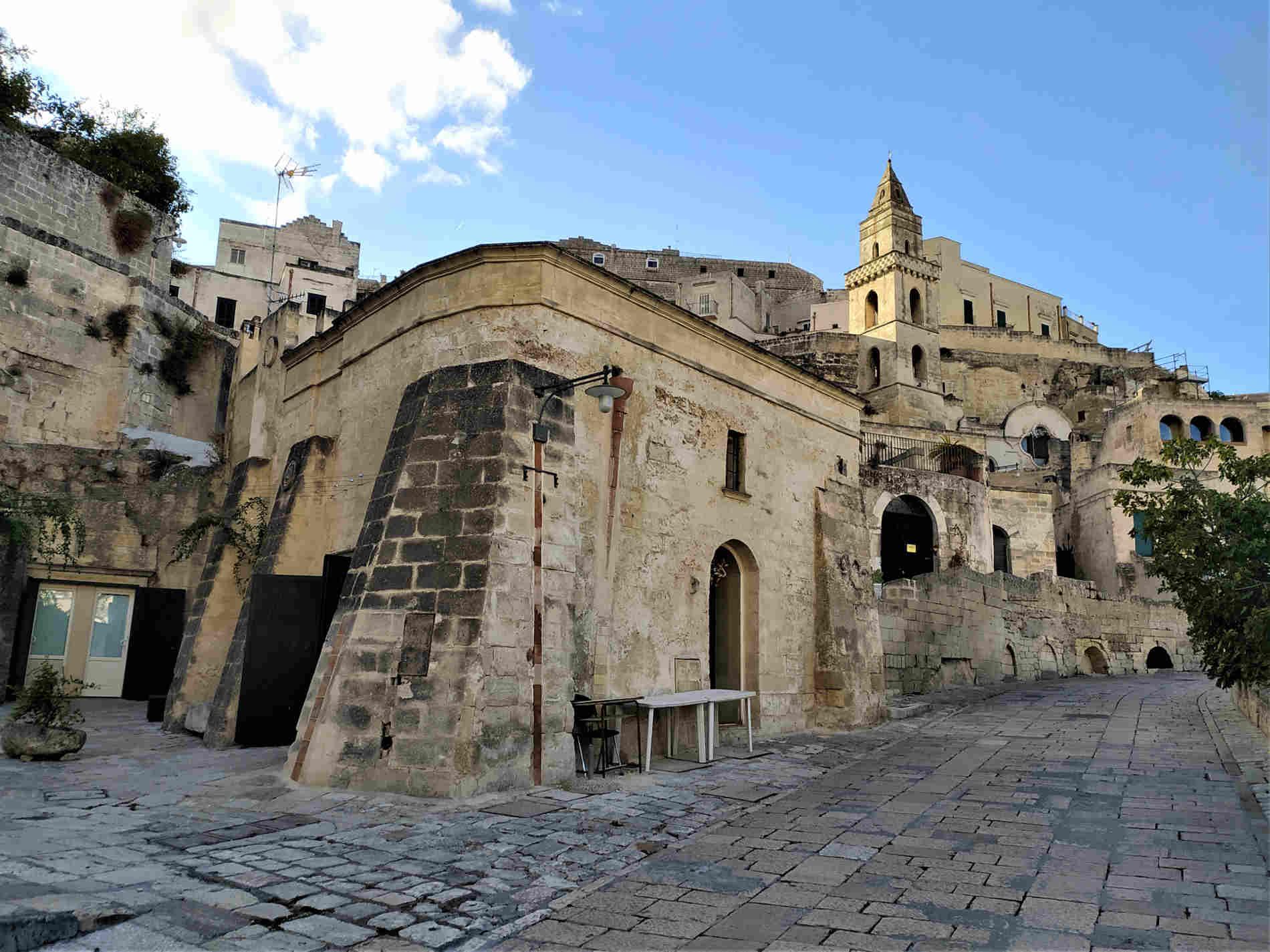 Scorci di Matera città dei Sassi e delle Acque