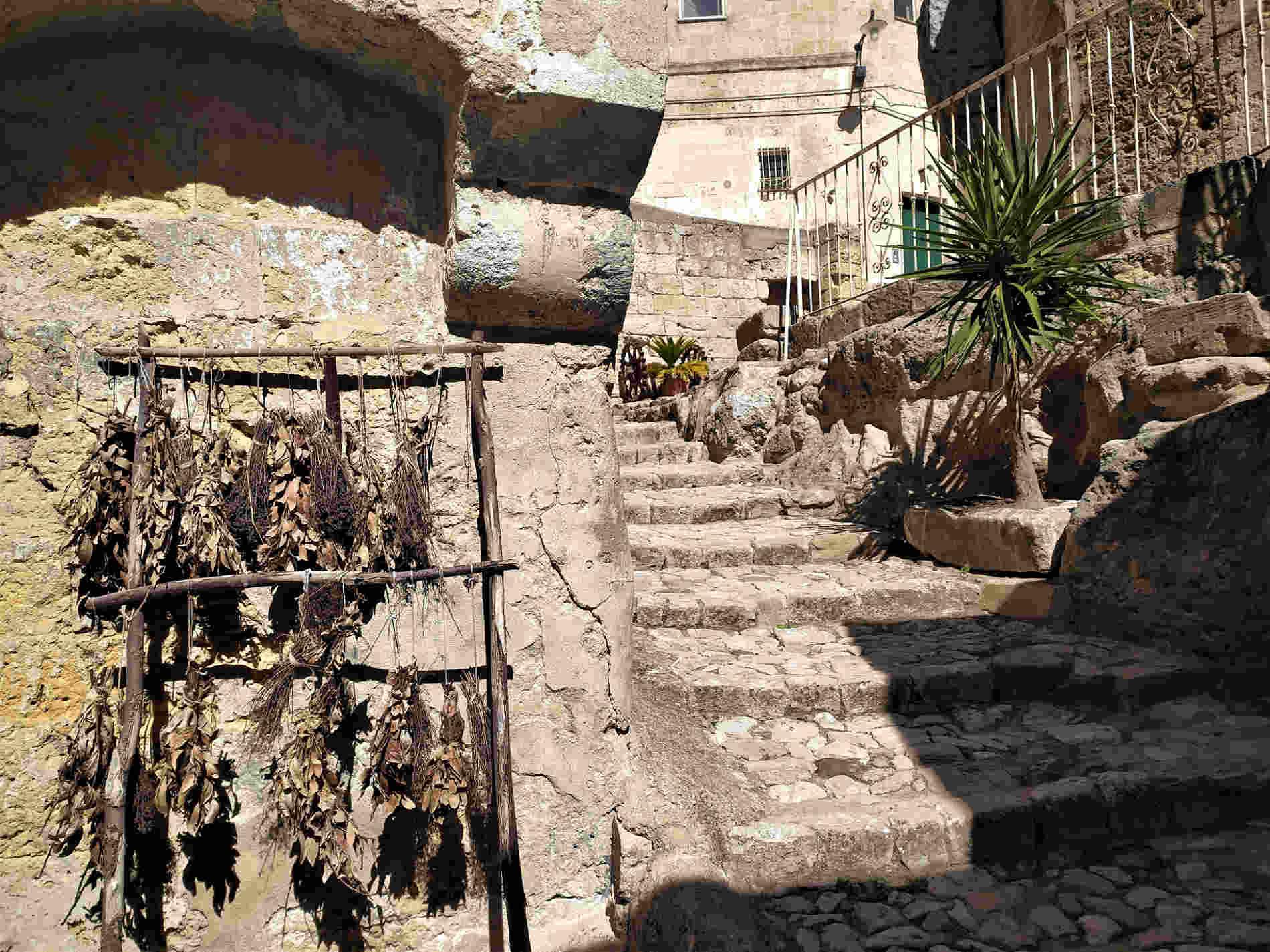 scorci di Matera città dei Sassi