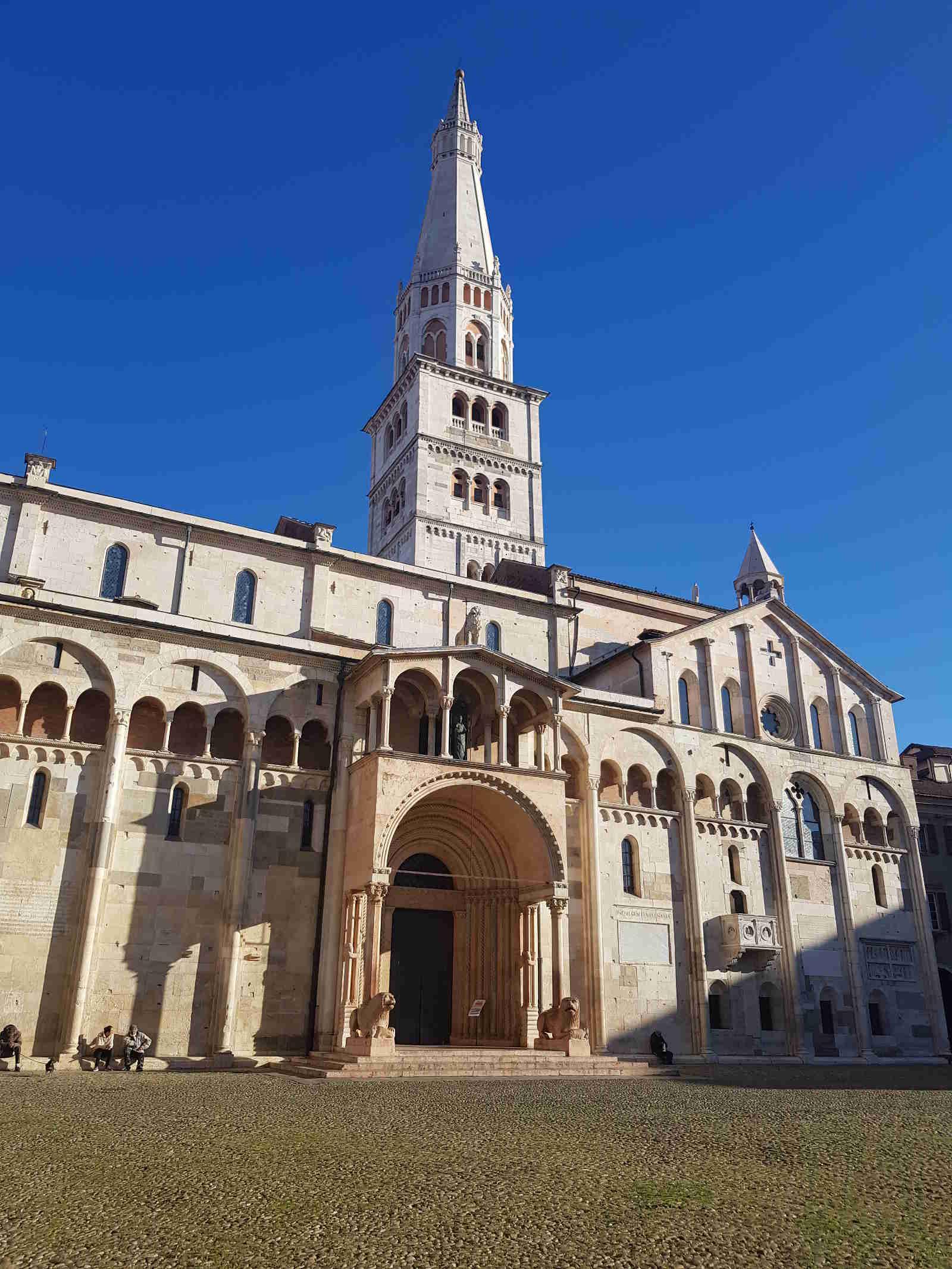 Piazza Grande a Modena sito unesco italiano