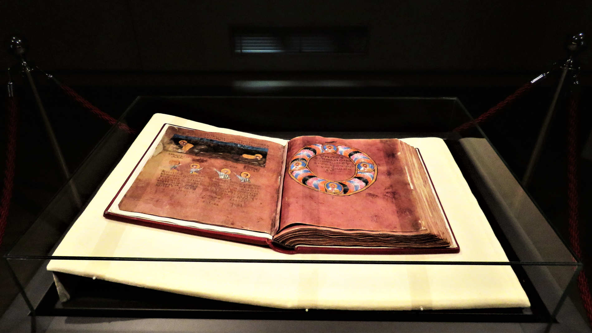 Memory of the world il Codex Purpureus Rossanensis nel Museo Diocesano e del Codex a Rossano