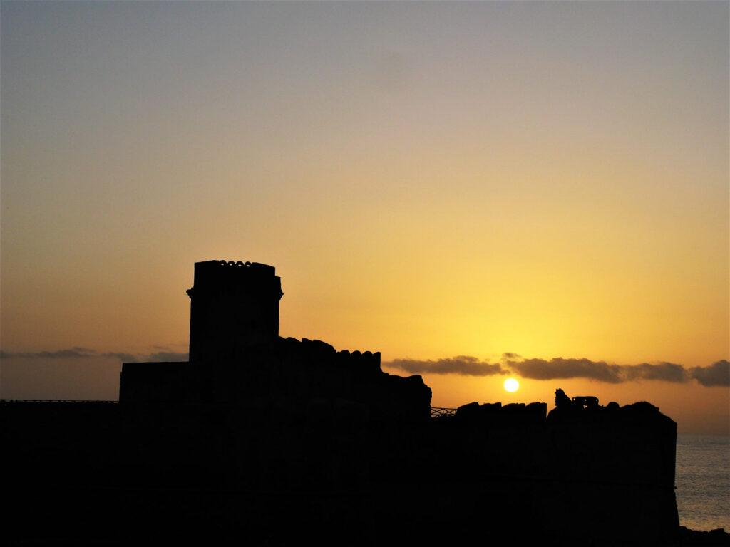 Il Castello a Le Castella in provincia di Crotone Calabria