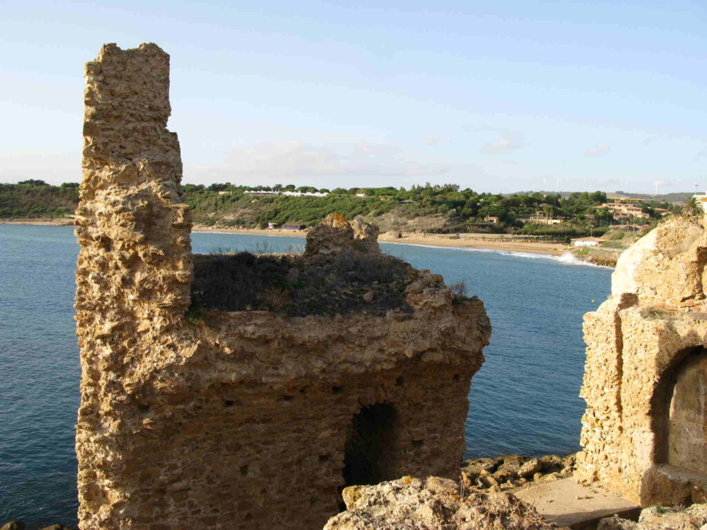 Panorama dal Castello Aragonese di Le Castella sulla Costa dei Saraceni Crotone Calabria